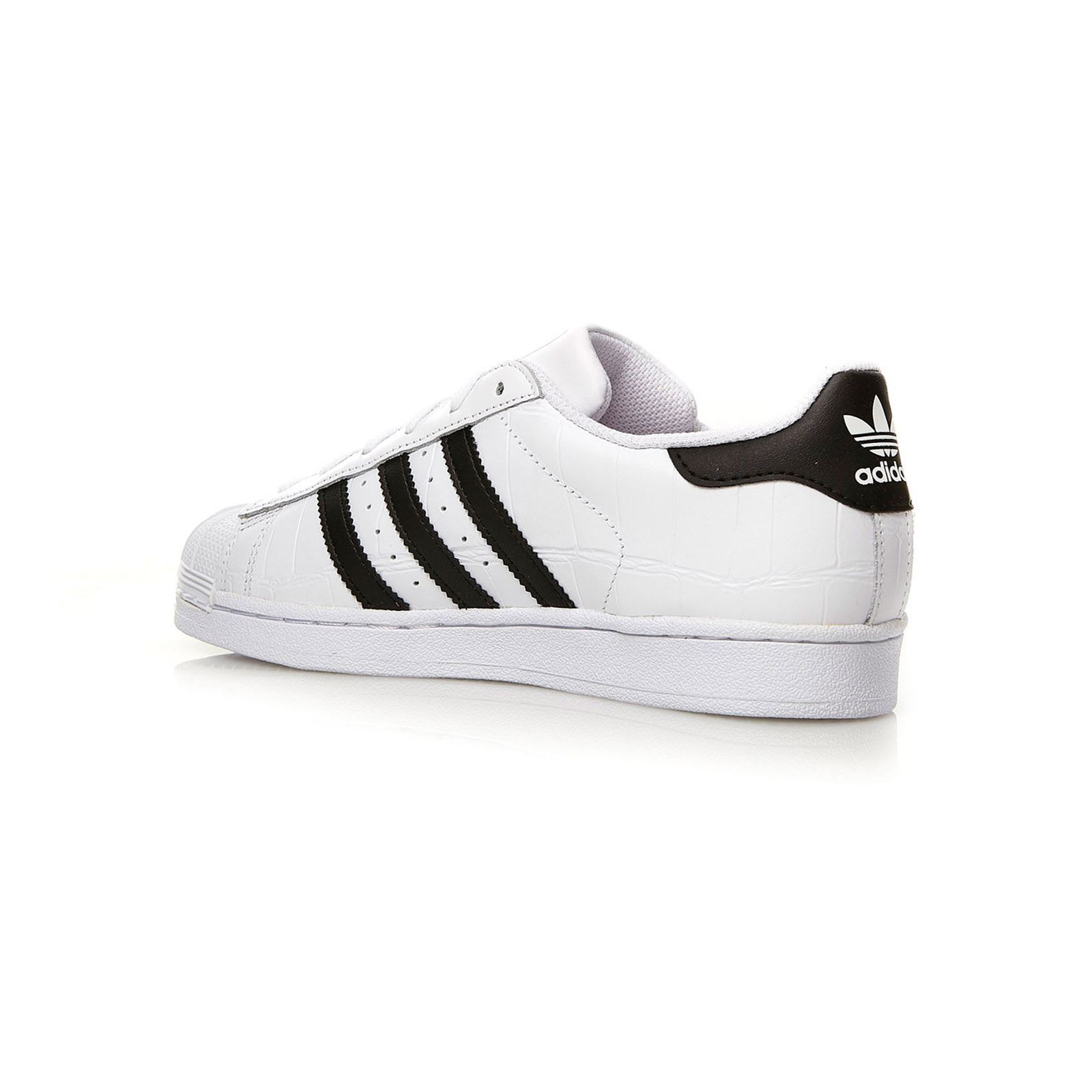 Adidas Originals Superstar - Baskets cuir bi-matière - bicolore Baskets  GH8HUA1Z - destrainspourtous.fr 92ecde3ca07