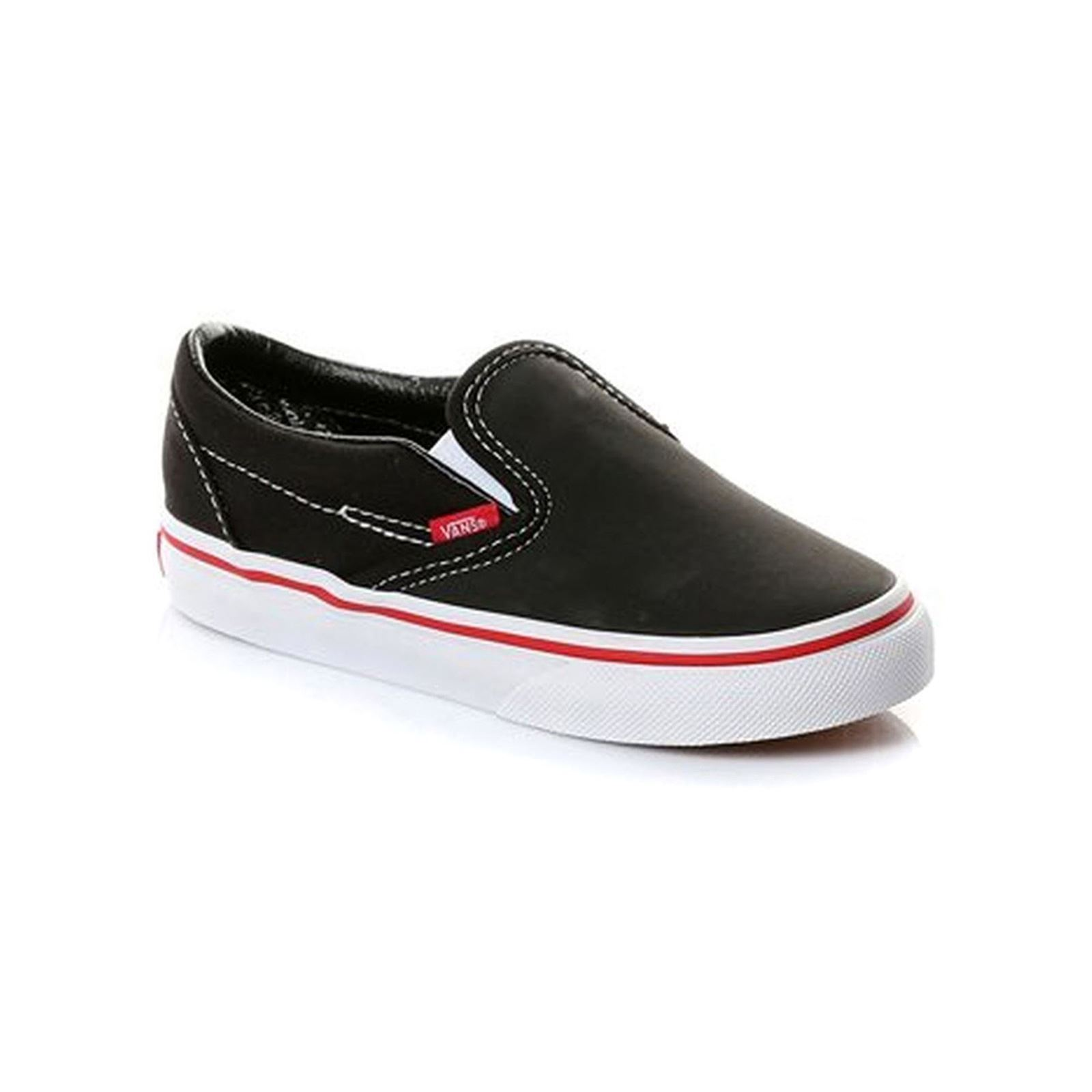 vans classic slip on noir brandalley. Black Bedroom Furniture Sets. Home Design Ideas
