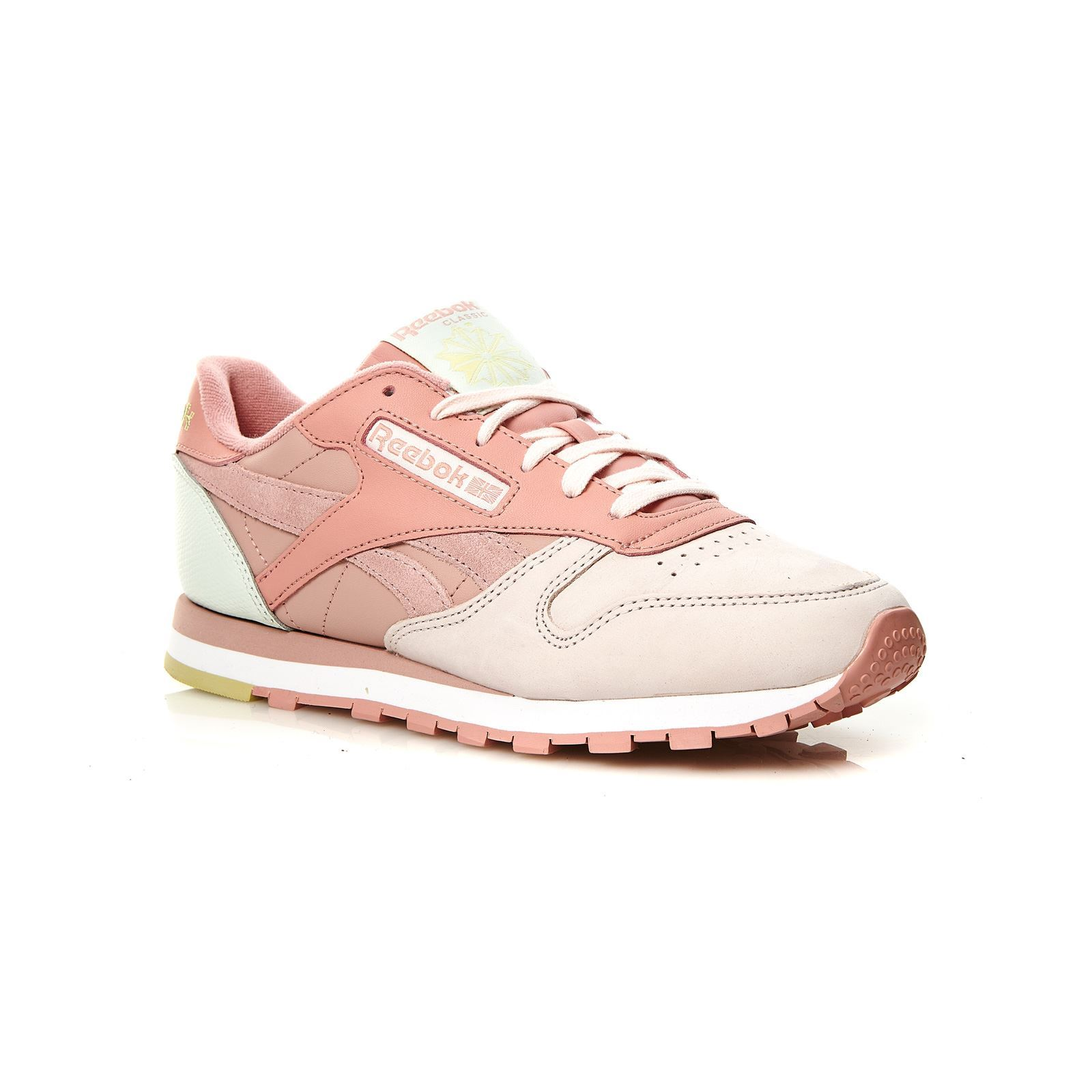 Reebok Classics Classic Leather PM - Baskets en cuir - rose  Baskets