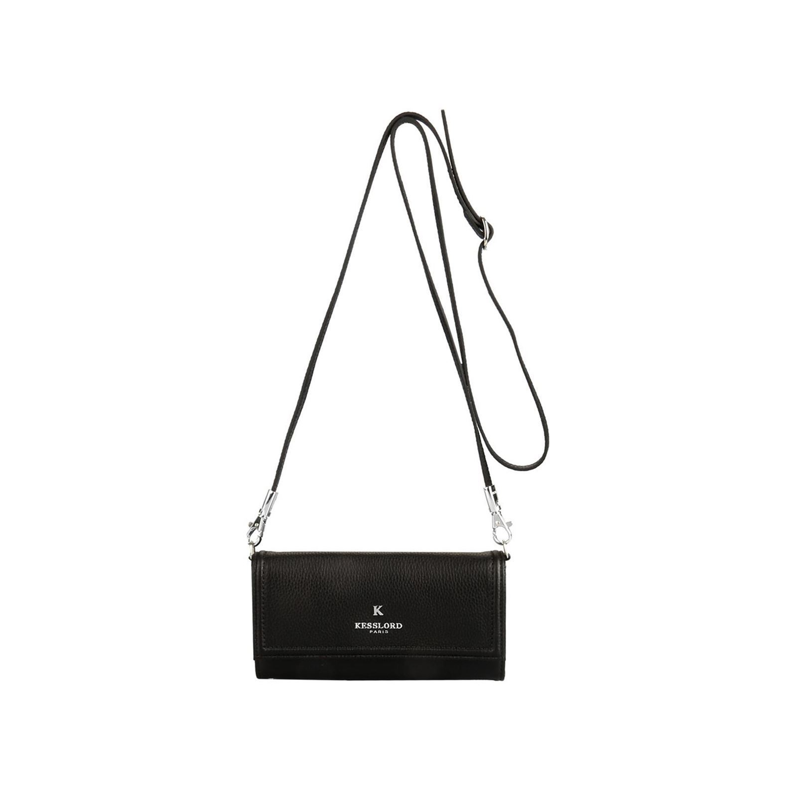 8f79f2ce9b Kesslord Molly country - Sac à main en cuir - noir | BrandAlley