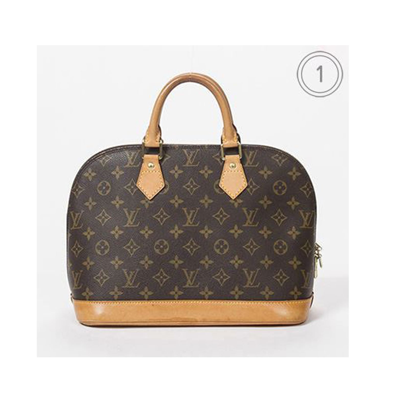 louis vuitton alma mod le moyen bowlingtaschen monogram canvas brandalley. Black Bedroom Furniture Sets. Home Design Ideas