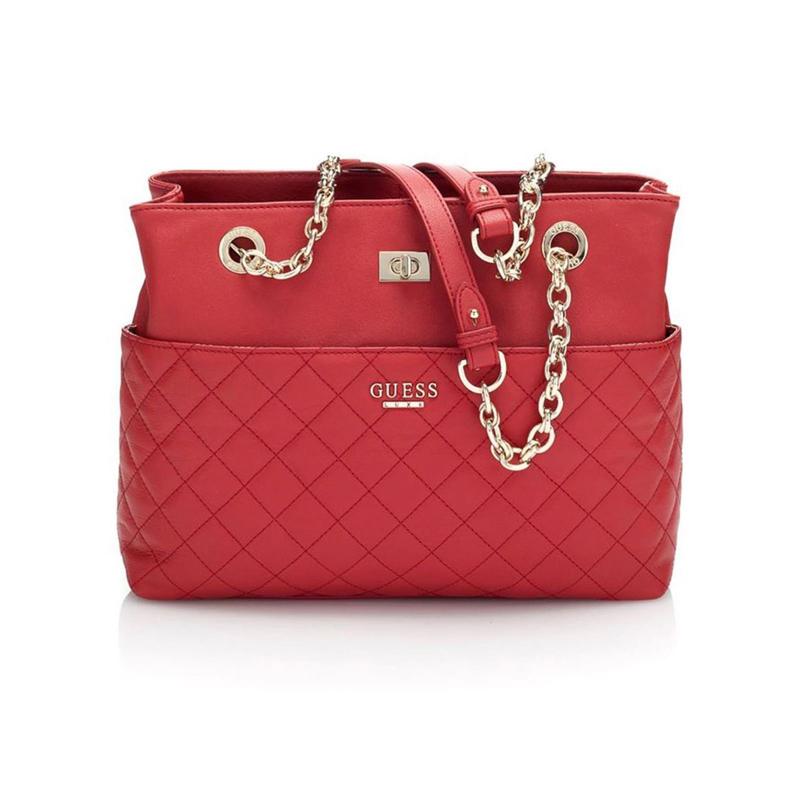 8a931323b6 Guess Suave Carryall - Sac - rouge | BrandAlley