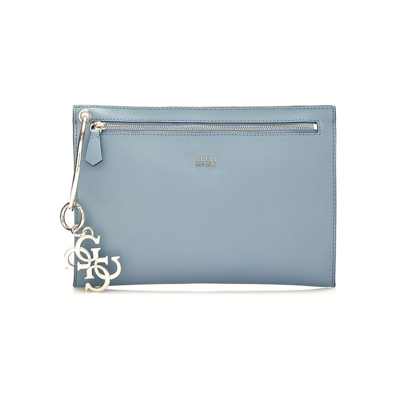 7174f0e301 Guess Digital - Sac pochette - bleu ciel | BrandAlley
