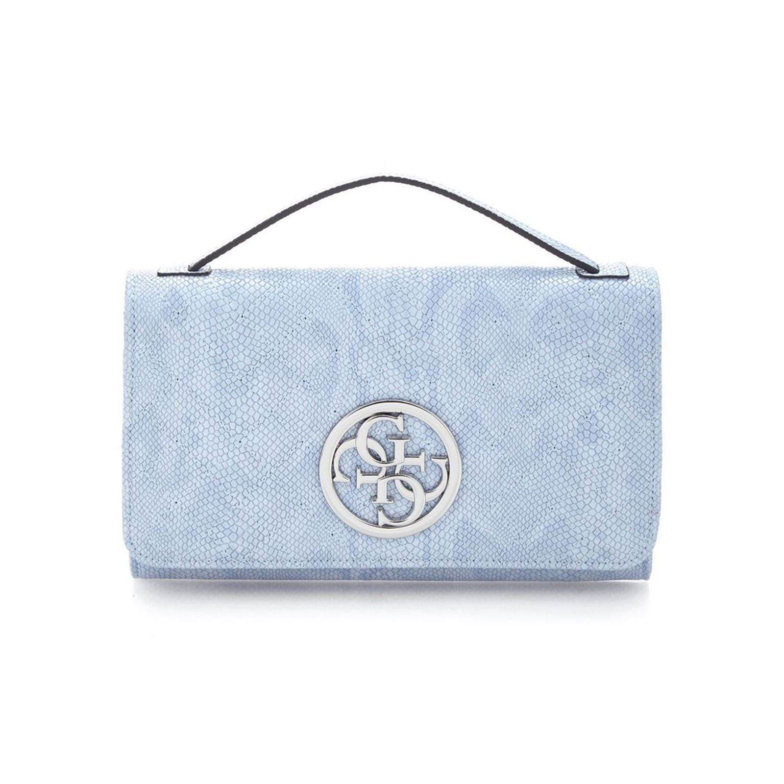 Borsa Brandalley Guess a Wallet Sky Blue Lux tracolla r87Hr
