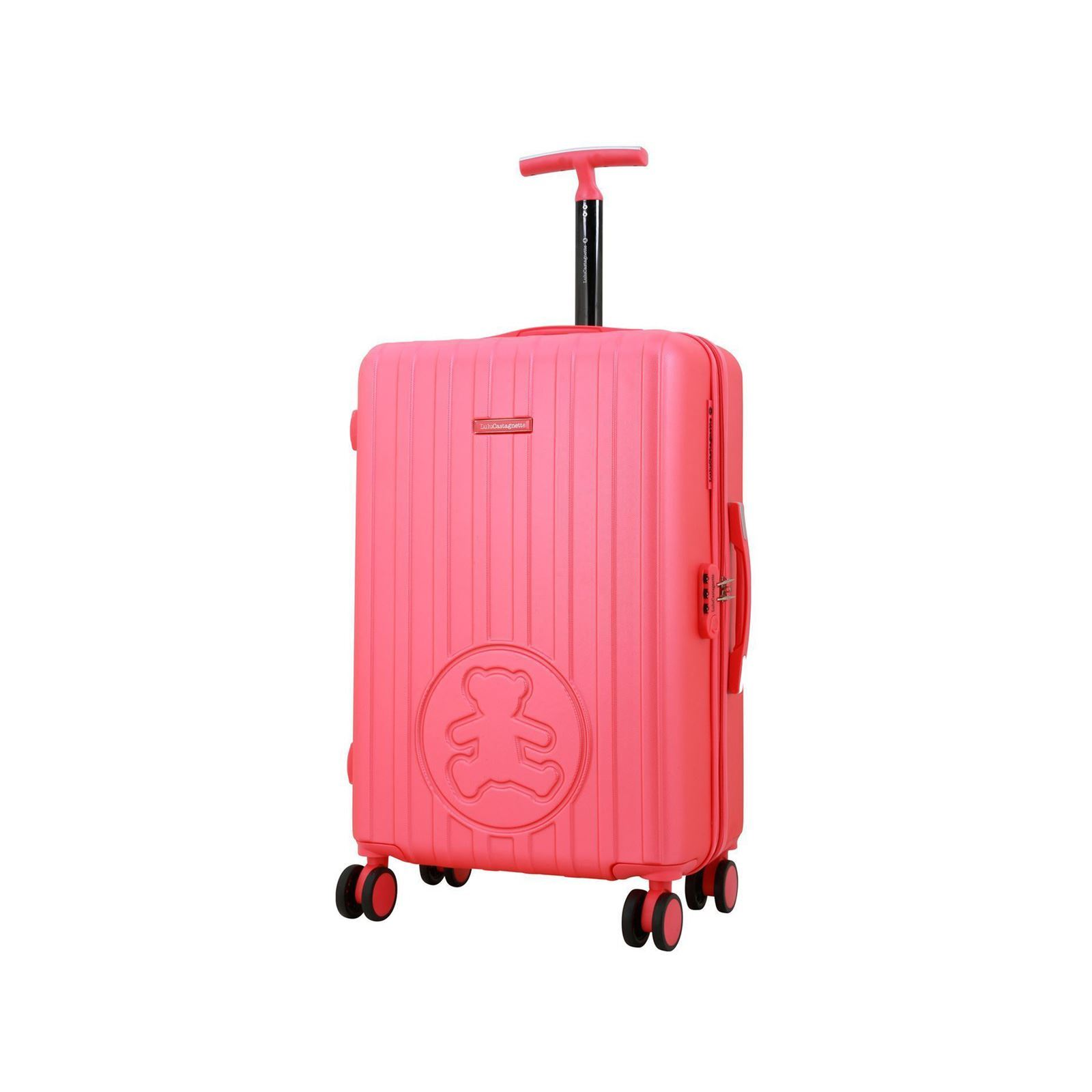 lulu castagnette valise trolley 60 cm rose brandalley. Black Bedroom Furniture Sets. Home Design Ideas