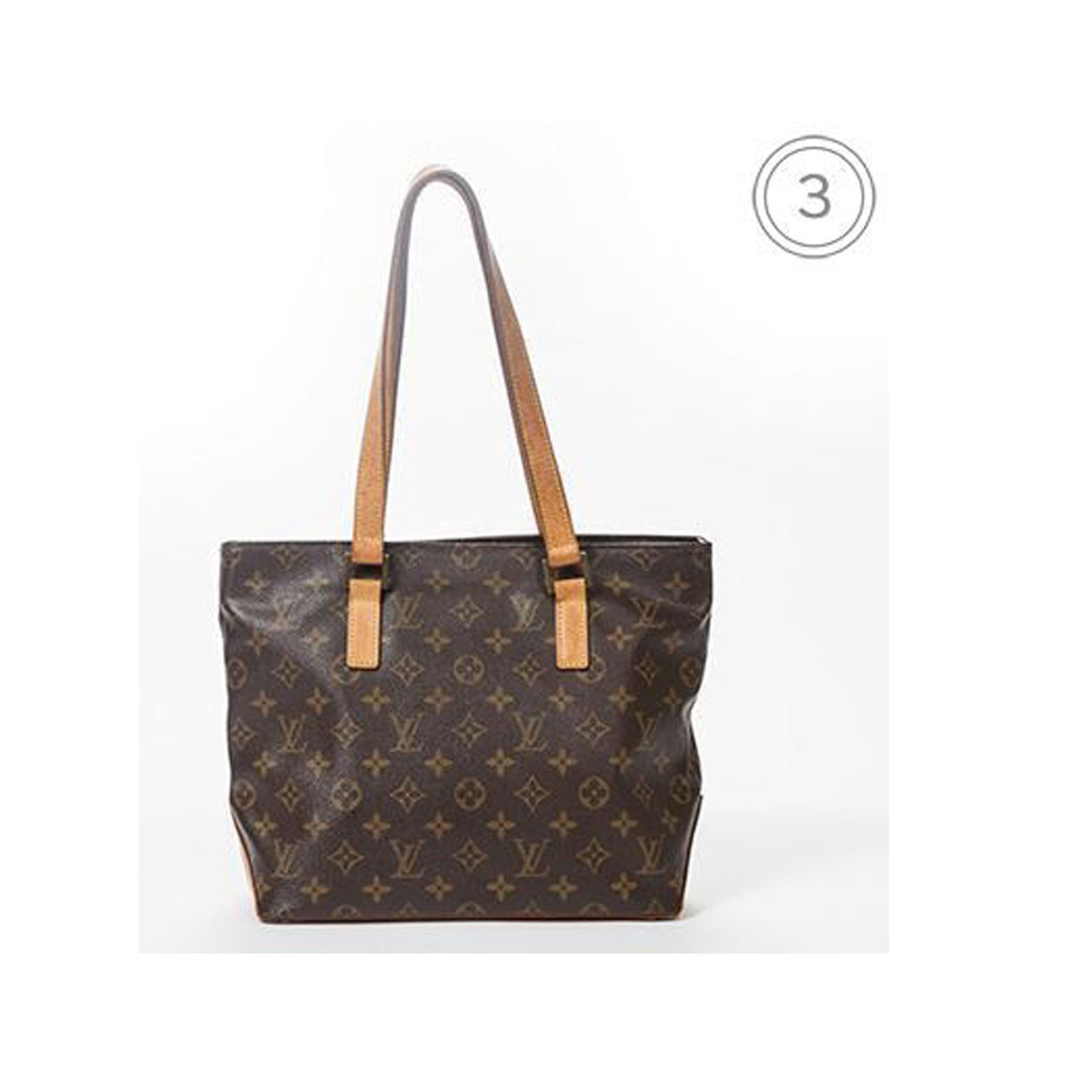 louis vuitton piano shopping bag monogram canvas brandalley. Black Bedroom Furniture Sets. Home Design Ideas