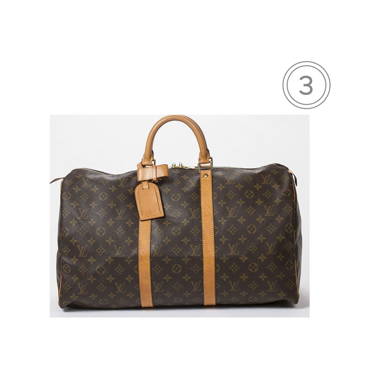 louis vuitton keepall 50 reisetasche monogram canvas brandalley. Black Bedroom Furniture Sets. Home Design Ideas