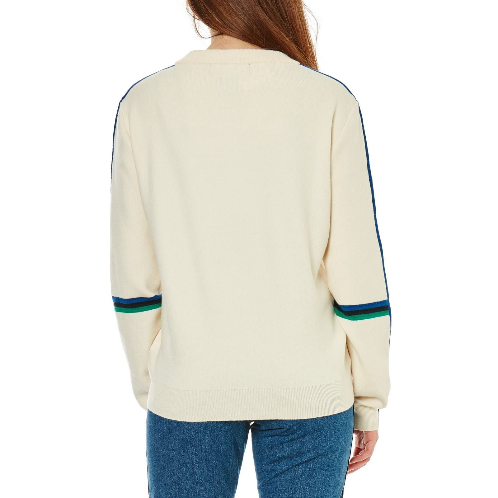 Damara Shirt Sweat Brandalley Vero Moda Ecru U8vanxw5