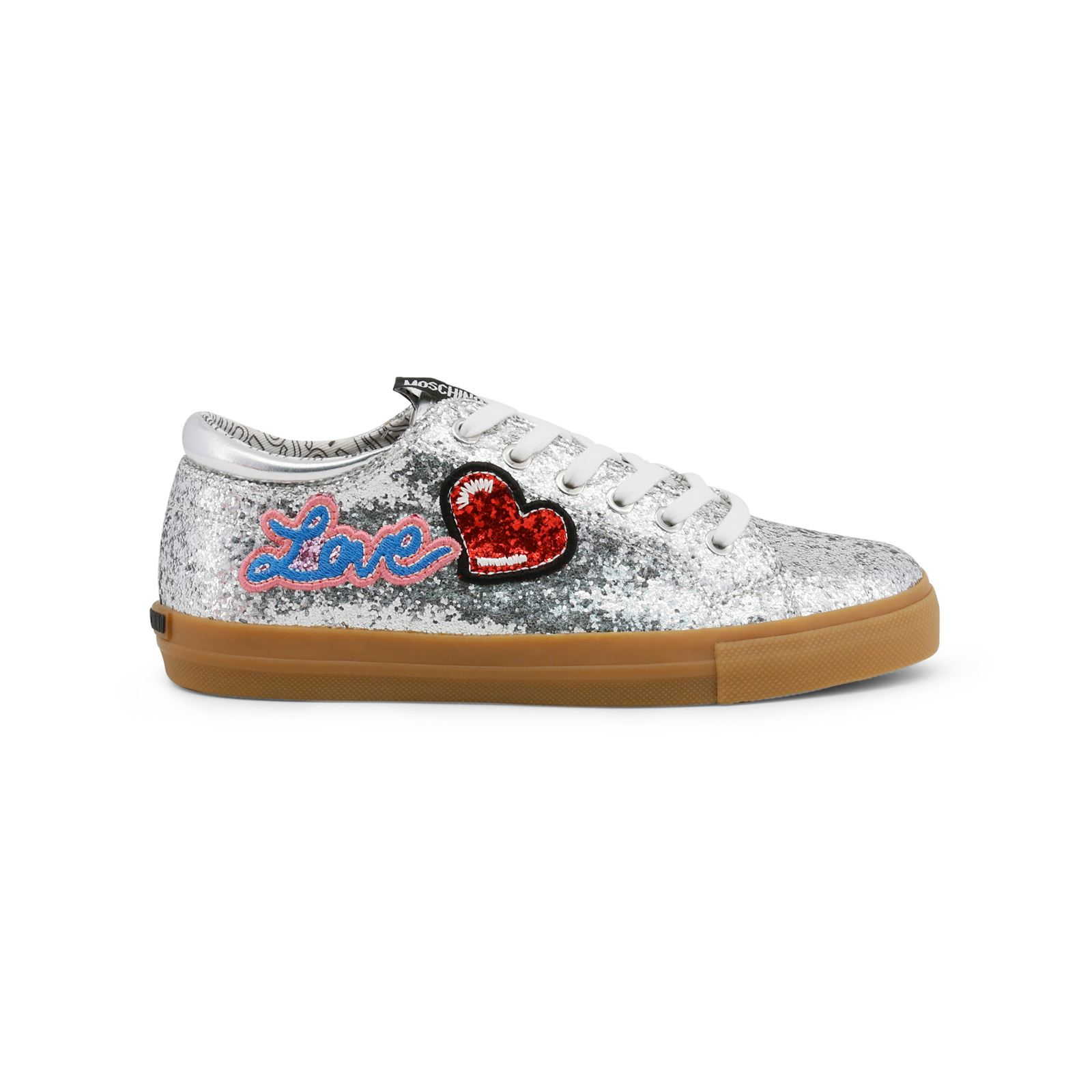 Love Moschino Scarpard.SP105 - Baskets - argenté  Baskets