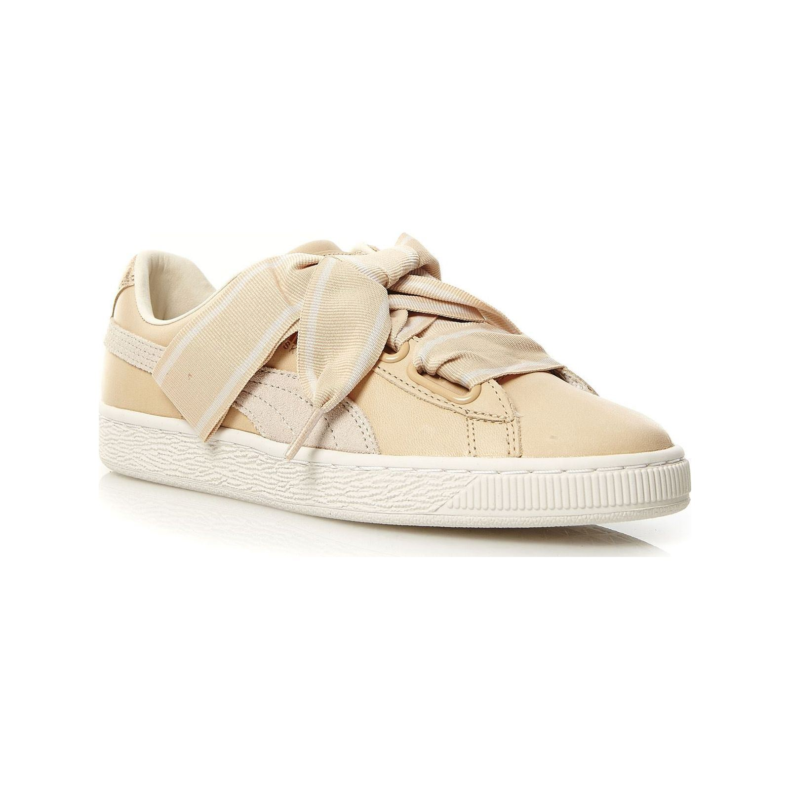 Puma Sneakers in pelle beige