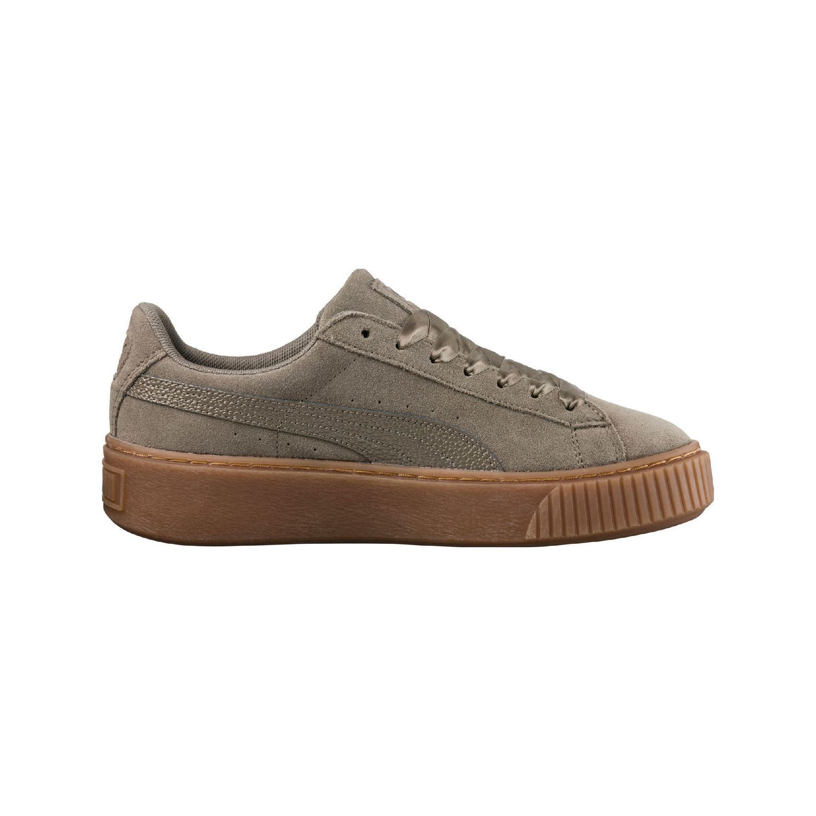 Puma Baskets en cuir - gris  Baskets