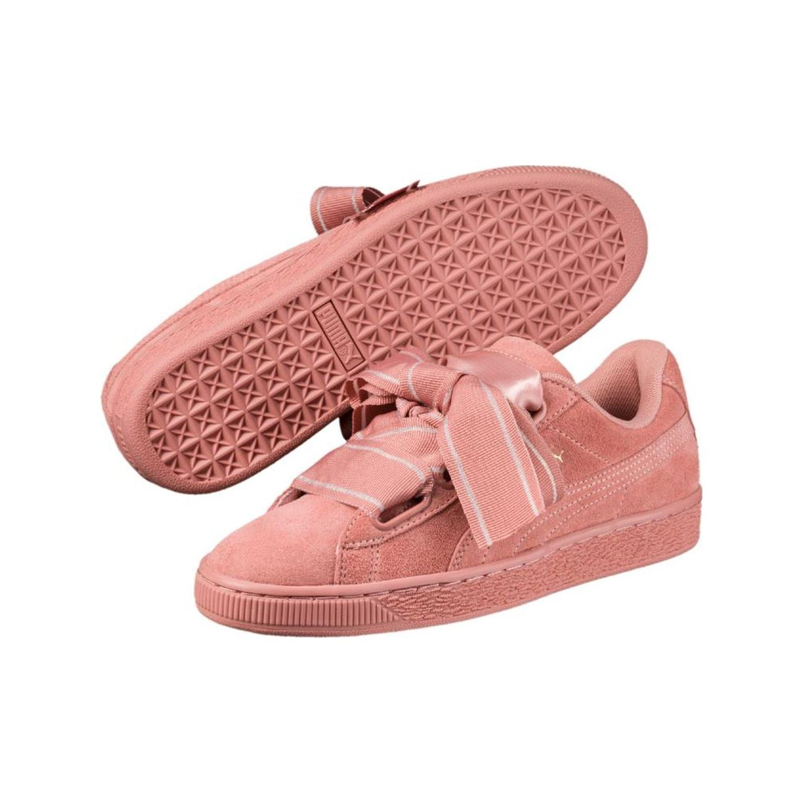 Puma Heart satin ll - Baskets en cuir - rose AXBcU