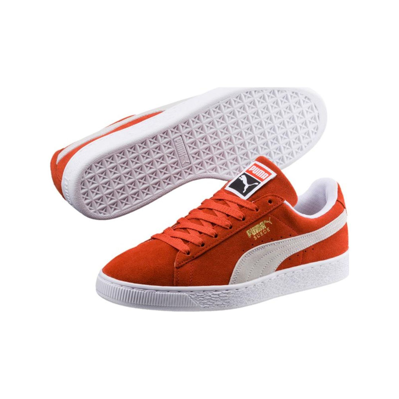Puma Suede classic - Baskets en cuir - orange  Baskets