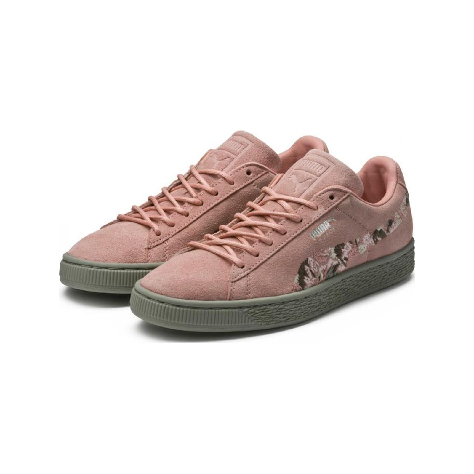 Puma Suede Irreg - Baskets en cuir - rose  Baskets