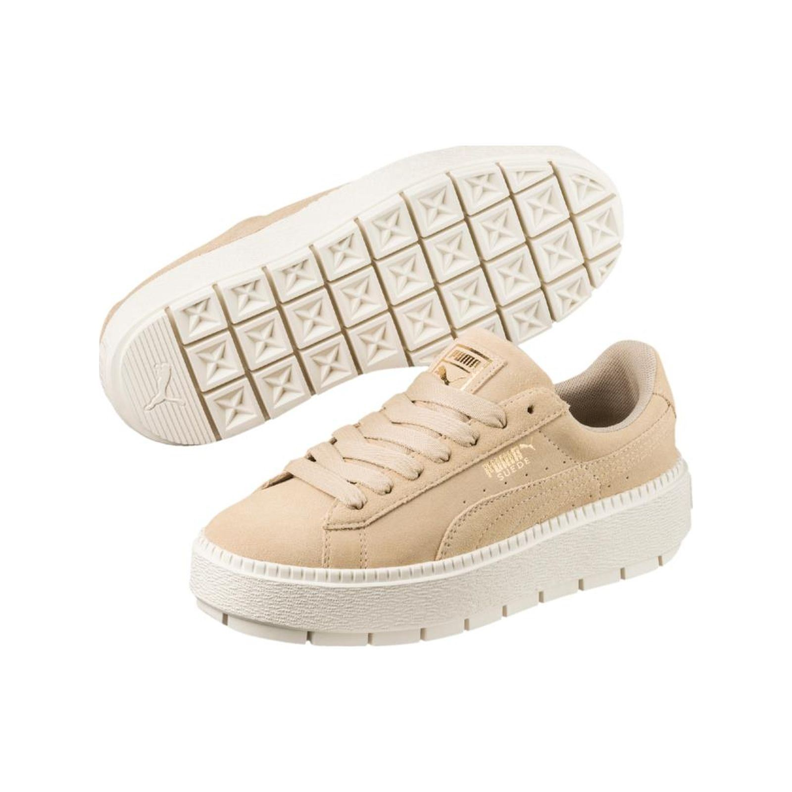 Baskets en cuir Suede Plateform Trace Puma Mally Sandales 5830 Sandales compensées Femmes Rose Mally soldes Mally Chaussures 5727 Richelieus Femmes Bleu Mally soldes K3Y2R