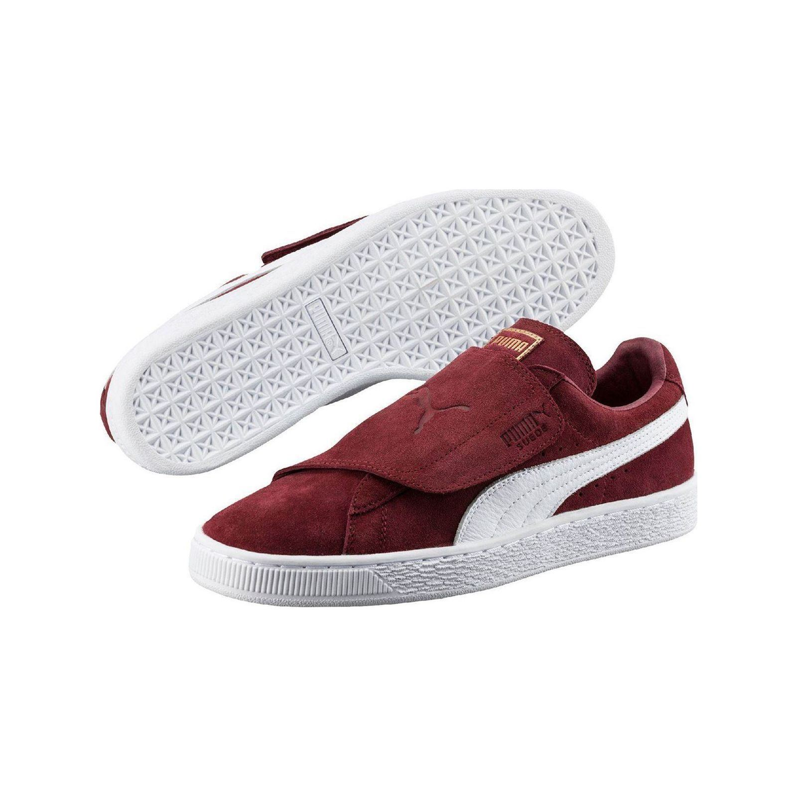 Puma Suede Strap - Baskets - bordeaux