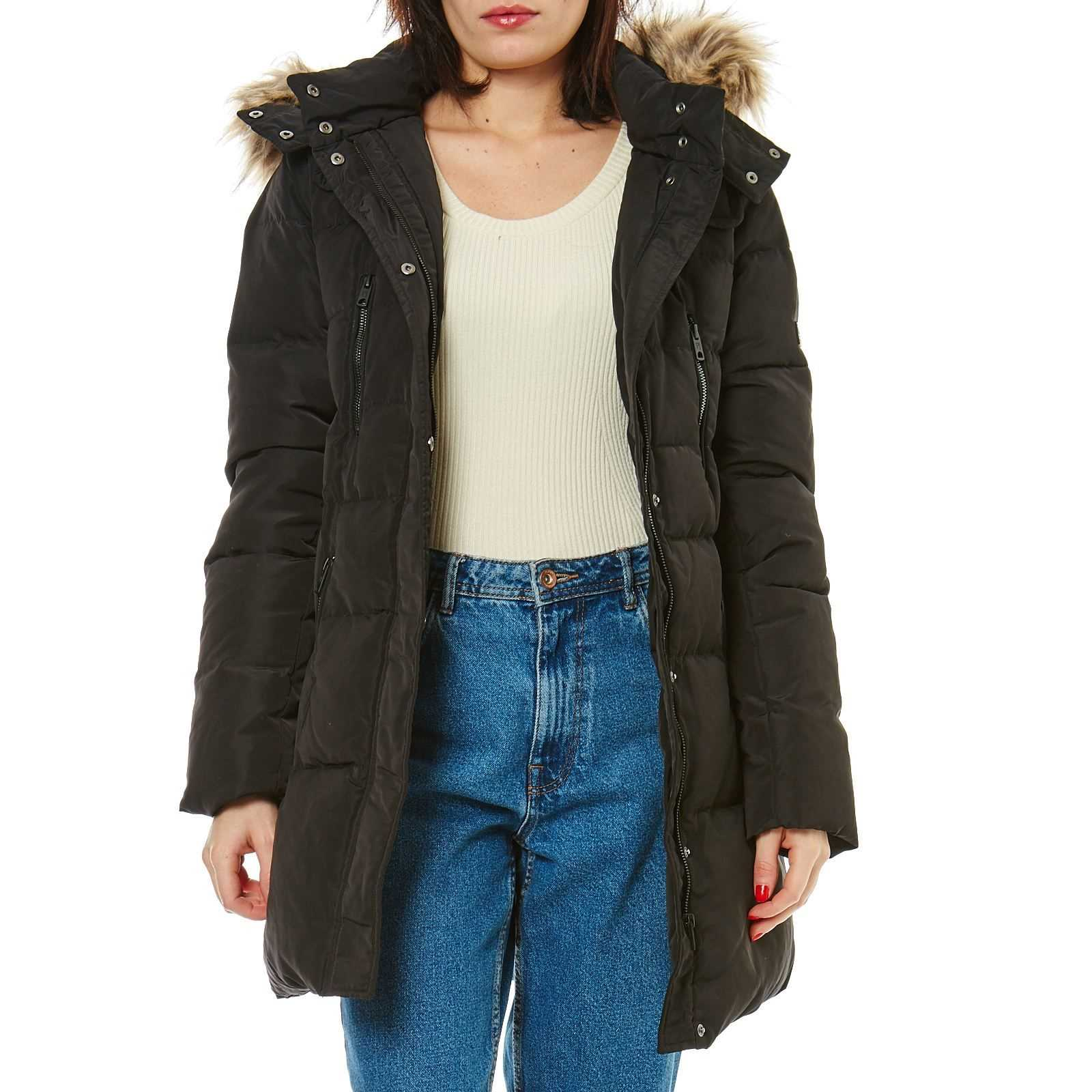 Pepe Jeans London Betties - Doudoune - noir   BrandAlley 91cdf8f94687