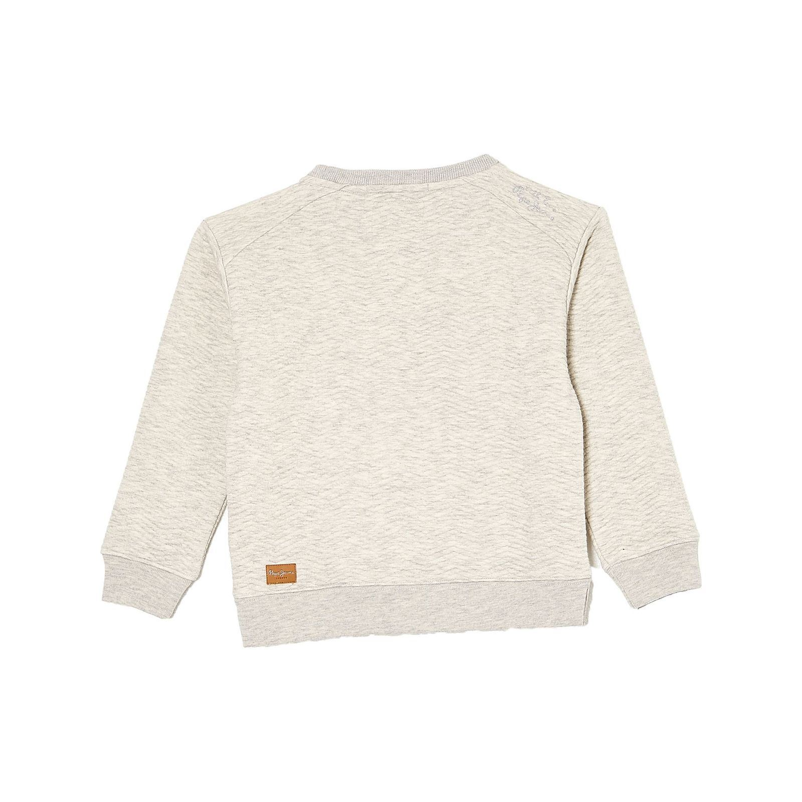 Pepe Jeans London Elly - Sweat-shirt texturé - ecru