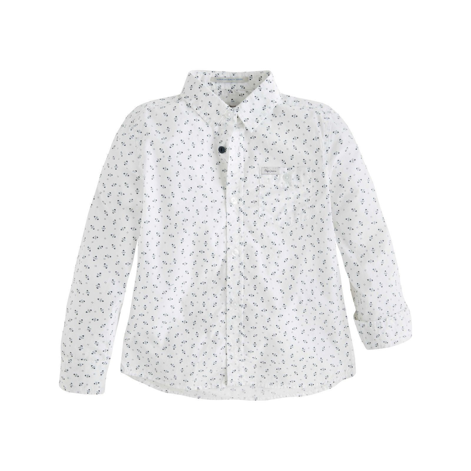 Pepe Jeans London Stephan - Chemise manches longues - blanc