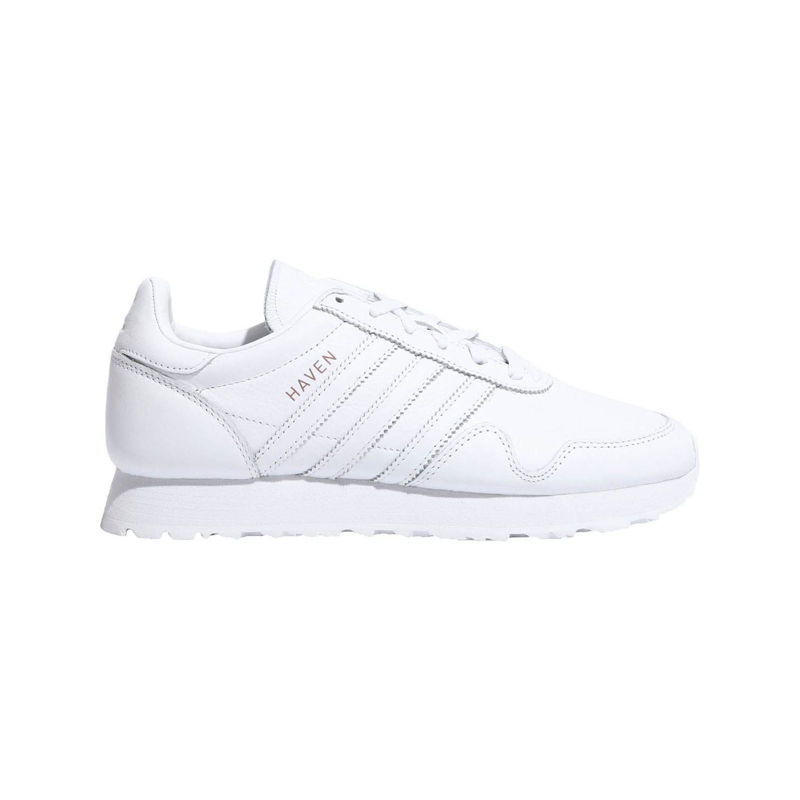 Adidas Originals Haven Sneakers in pelle bianco