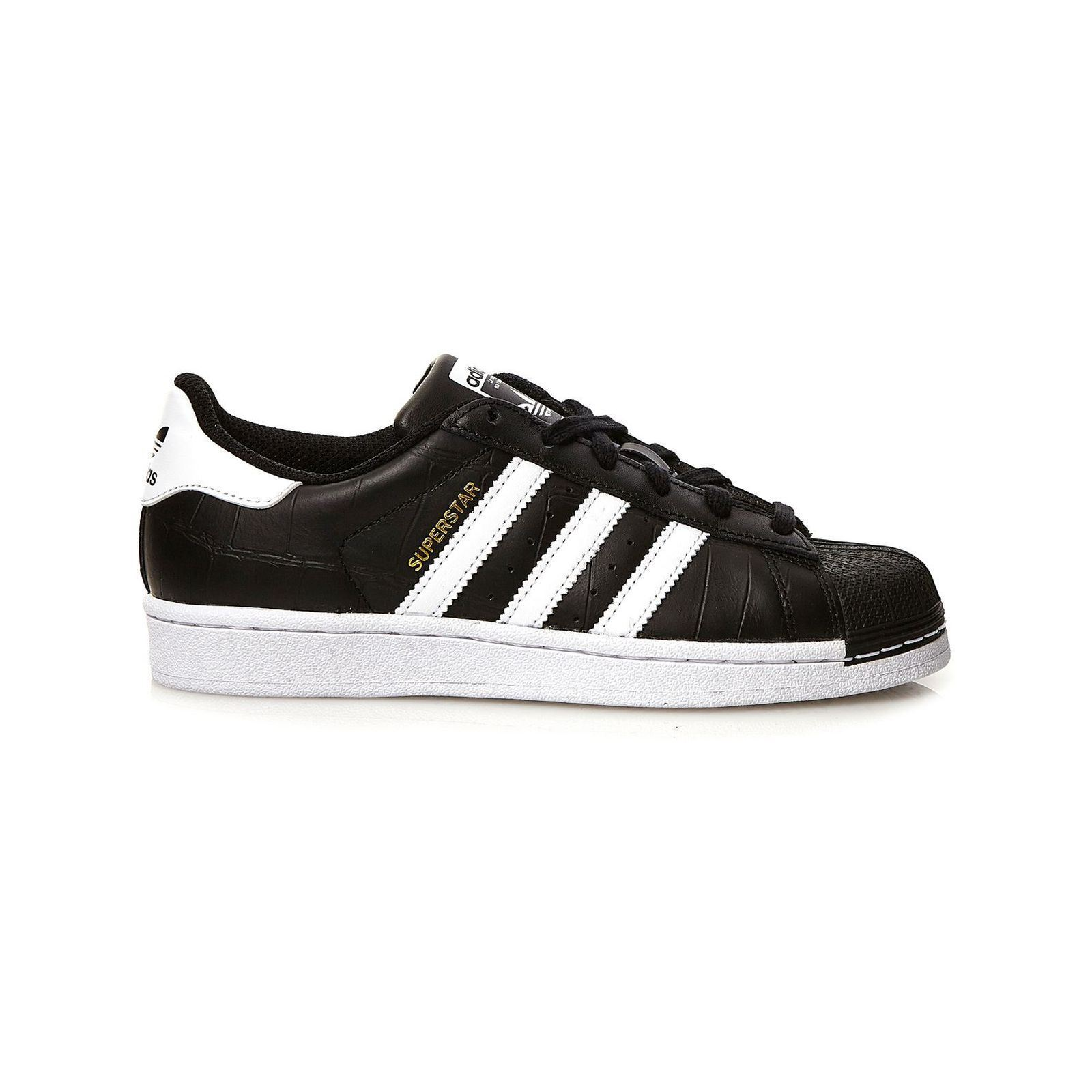 ADIDAS ORIGINALS Superstar - Baskets avec cuir - noir