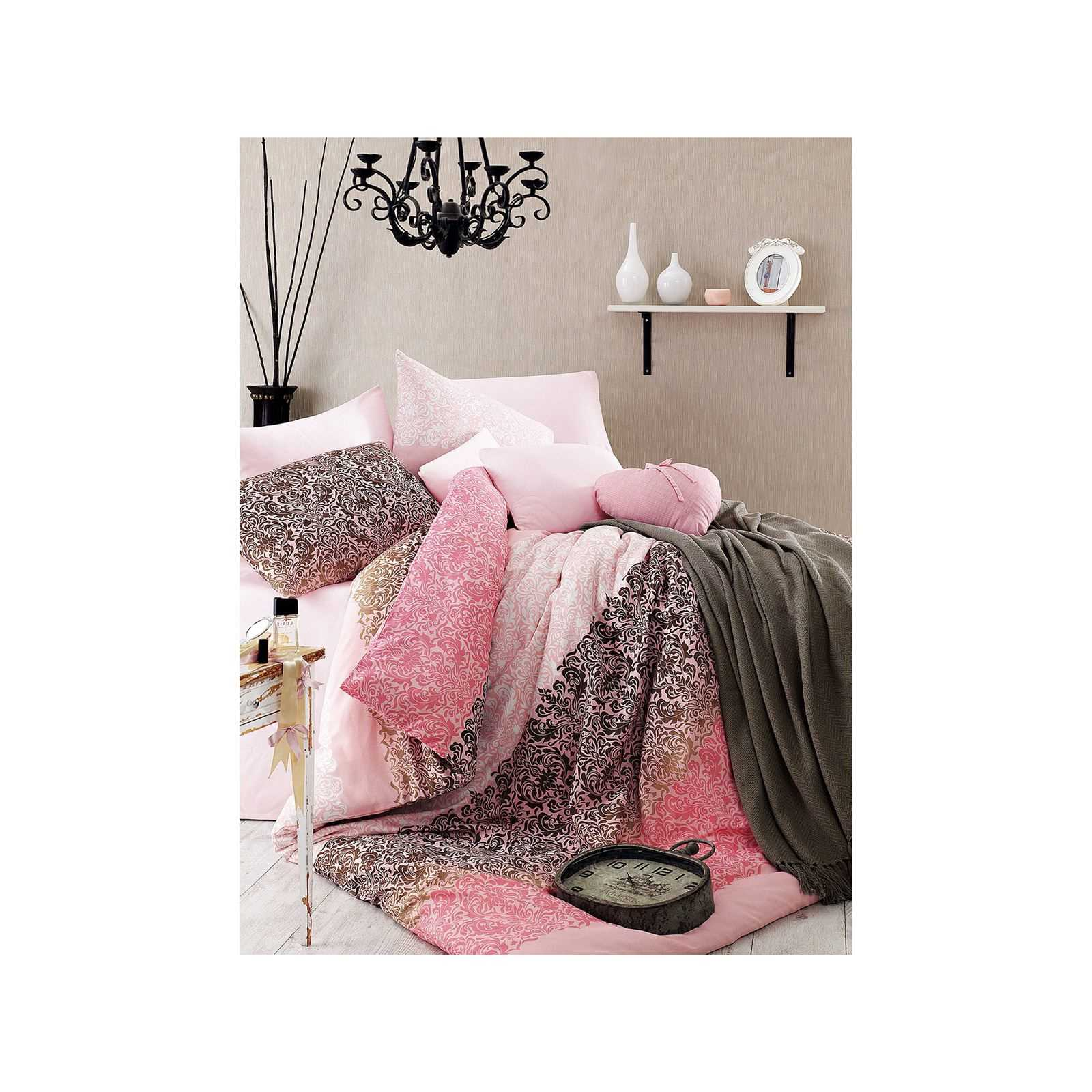 en vogue parure de lit rose brandalley. Black Bedroom Furniture Sets. Home Design Ideas