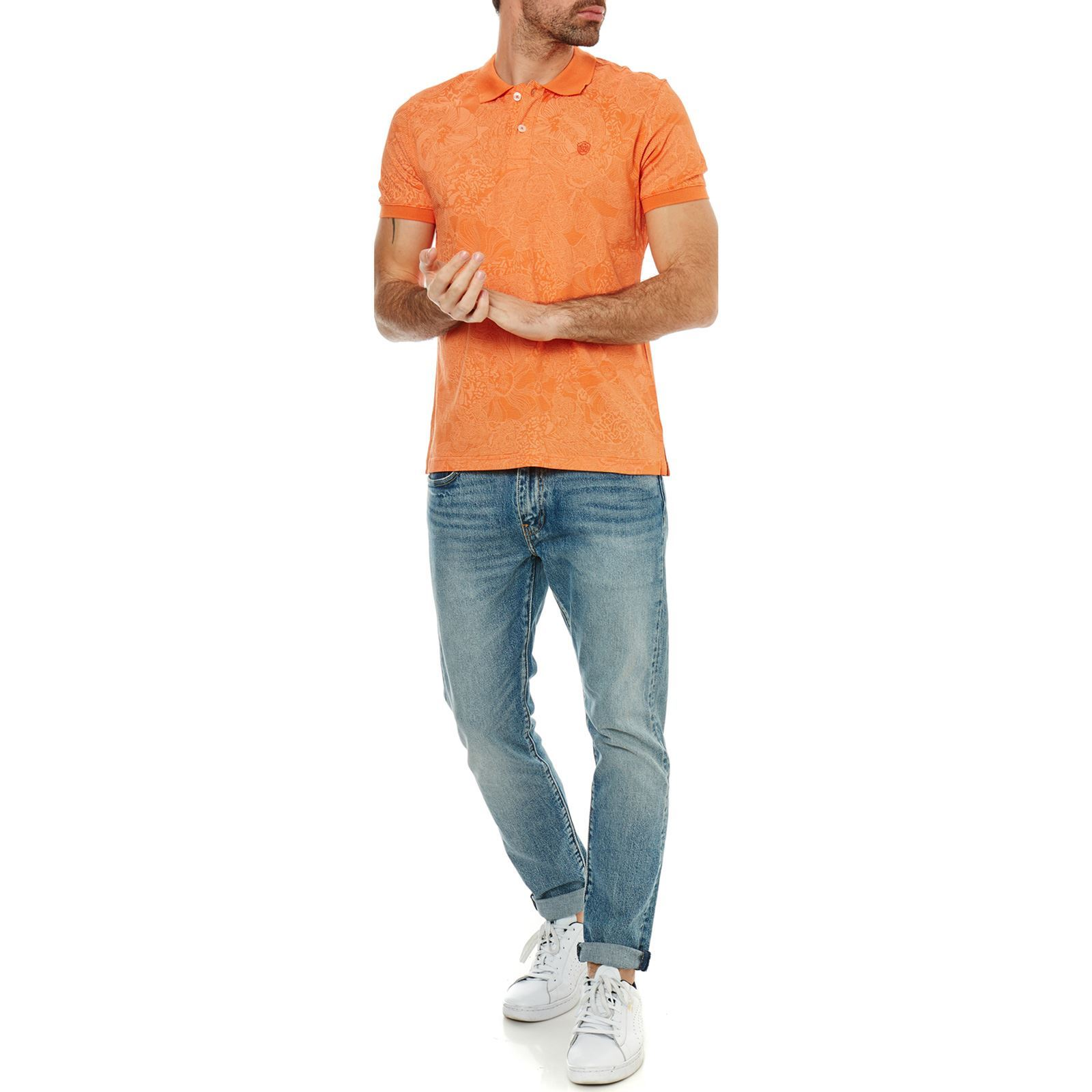 Dew Polo Courtes Orange Galvanni Manches qRd6Fa5