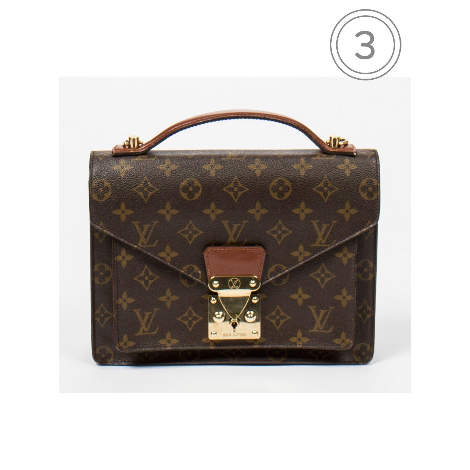 Louis Vuitton Monso - Cartable - Toile Monogram   BrandAlley 7a9949ddb75