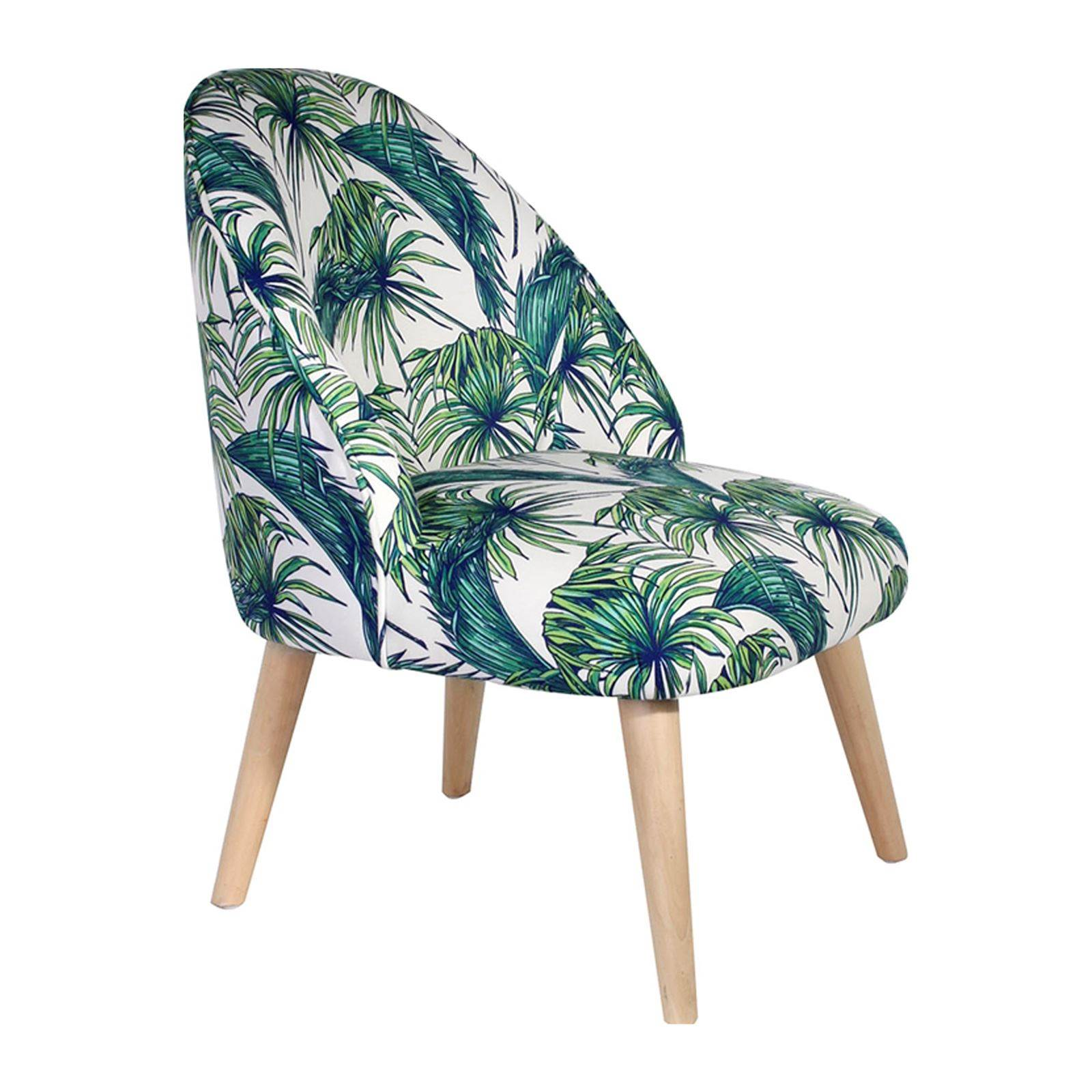 The home deco factory fauteuil jungle blanc brandalley - Fauteuil enfant jungle ...