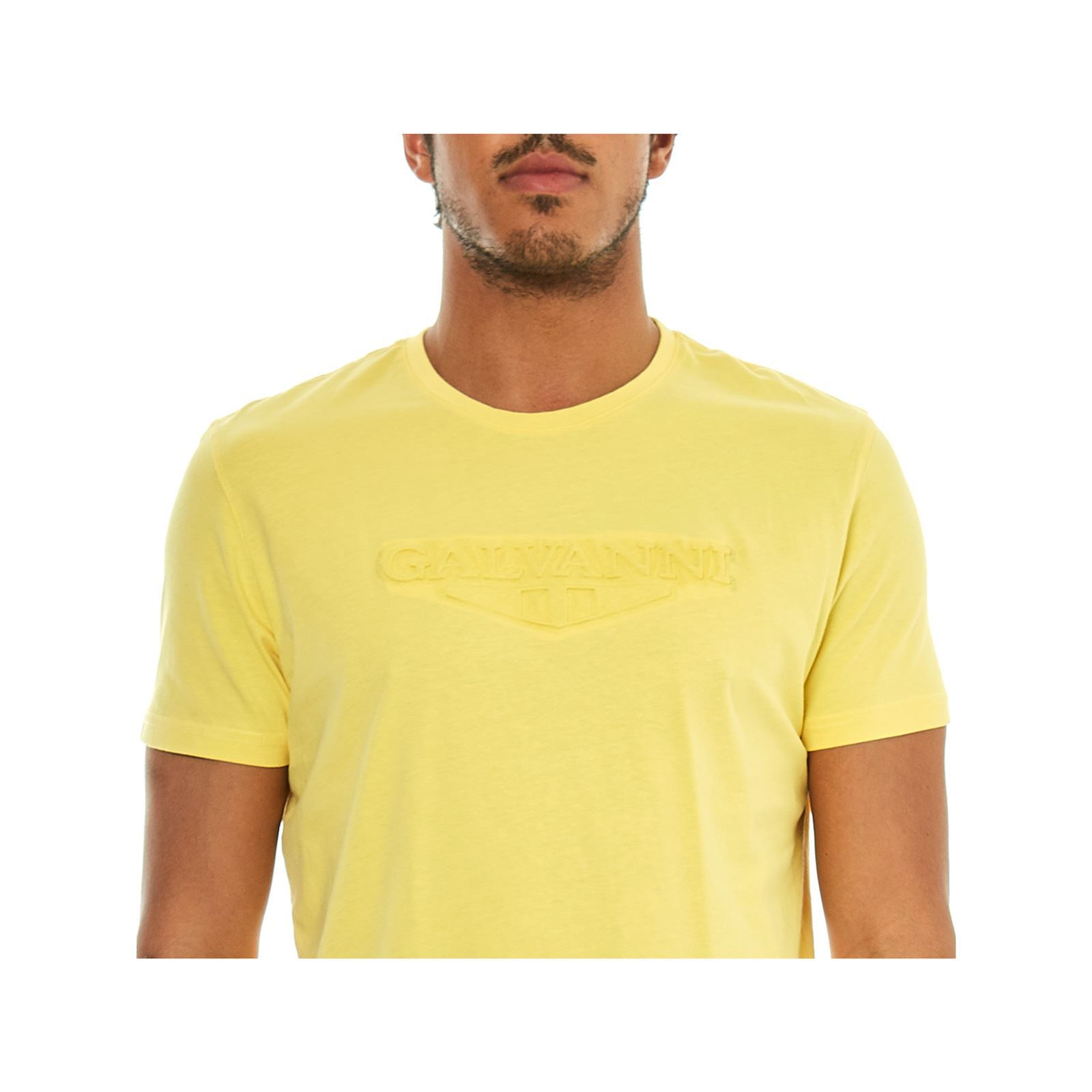 Courtes Galvanni Derived Jaune shirt Manches T IRRw8x0
