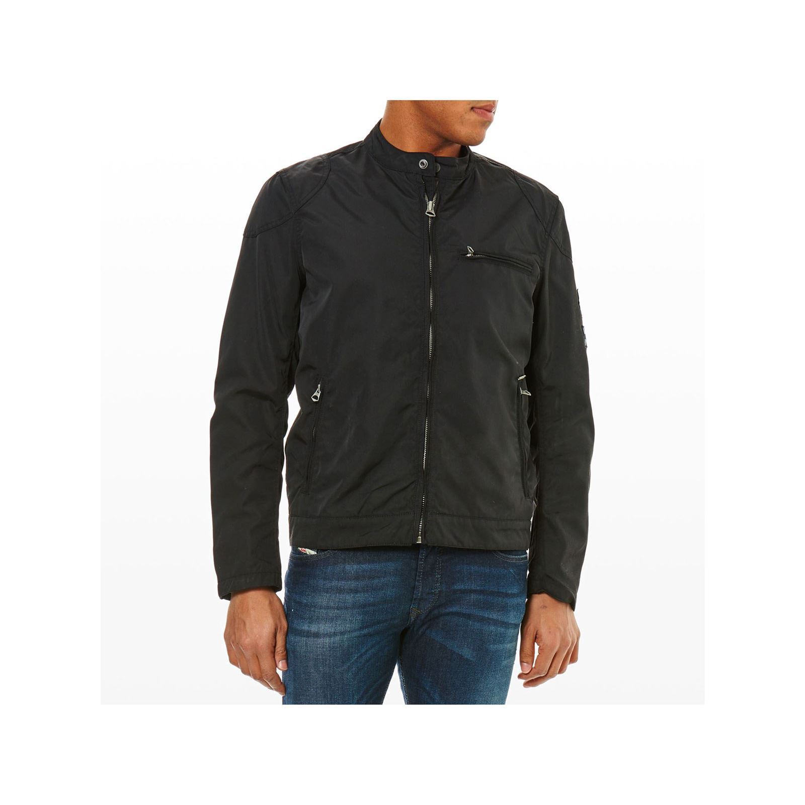 London Veste Pepe Falcon Noir Jeans Brandalley 6ZrPxZ