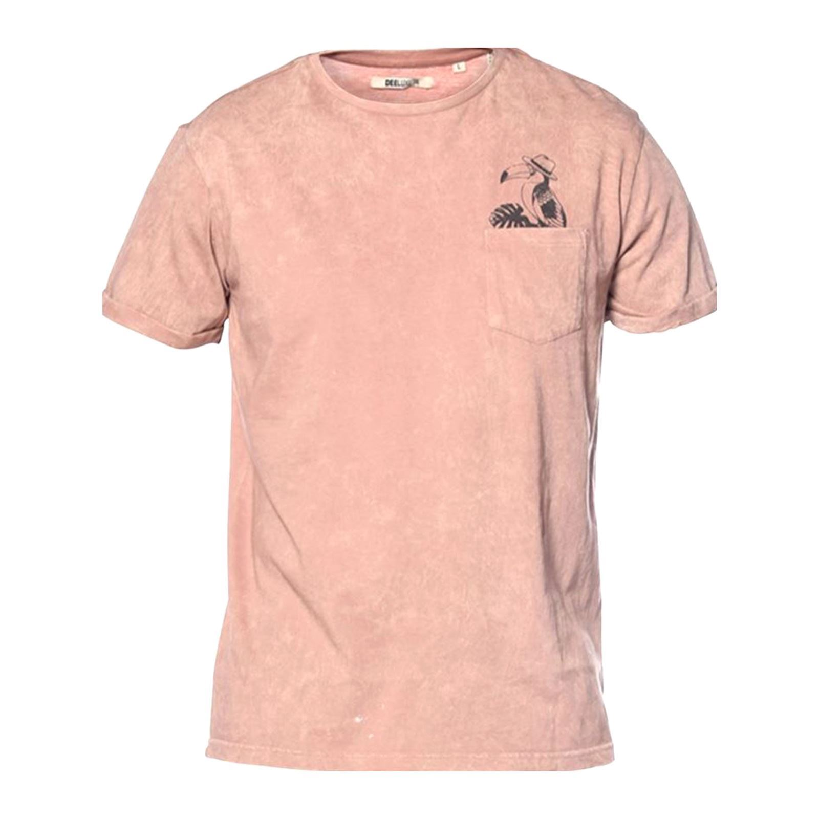 Rose Manches Brandalley T Shirt Waiki Deeluxe Courtes Xqp70Bp 51be70a5651