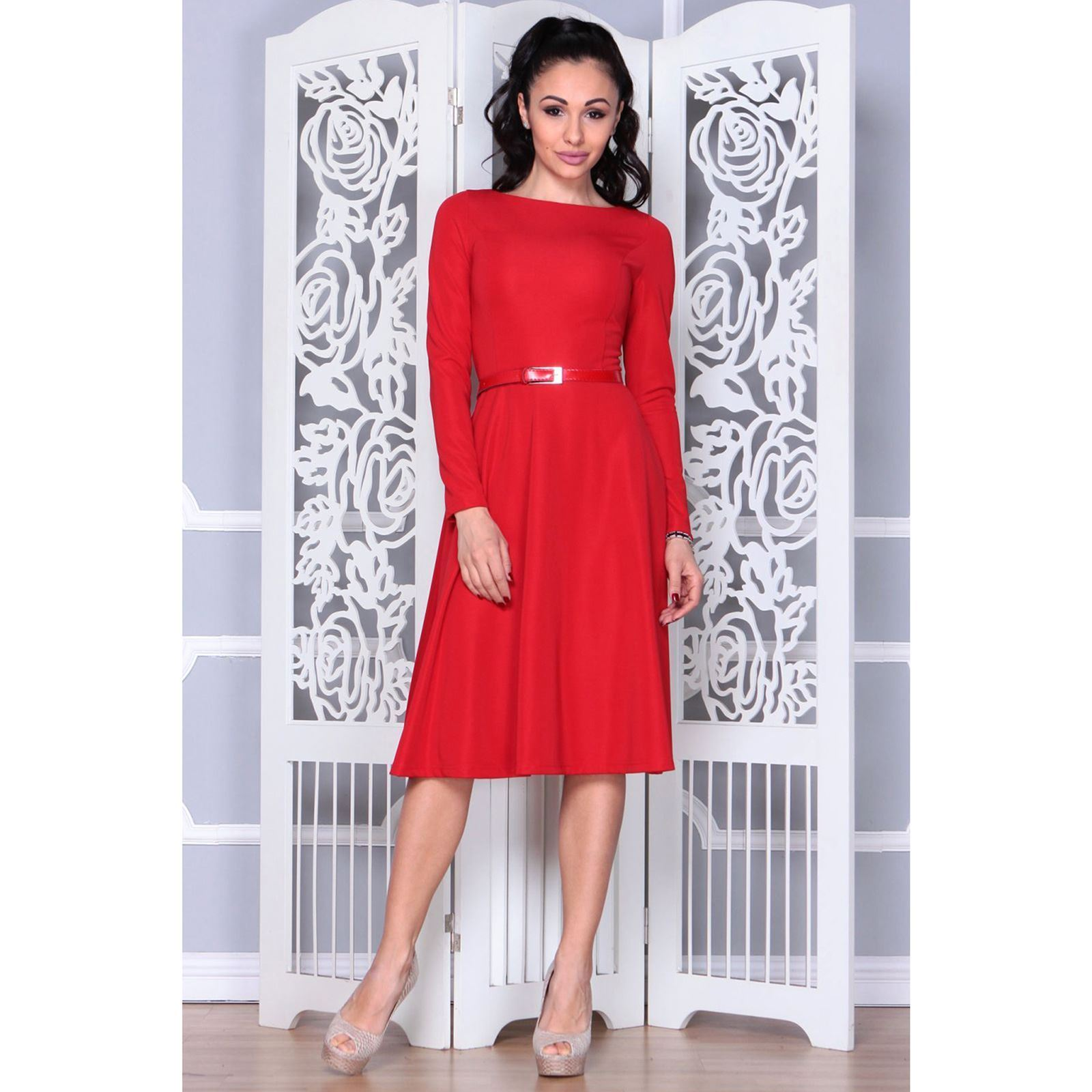 buy online 36cf6 0b161 Laura Bettini Vestito da cerimonia - rosso | BrandAlley