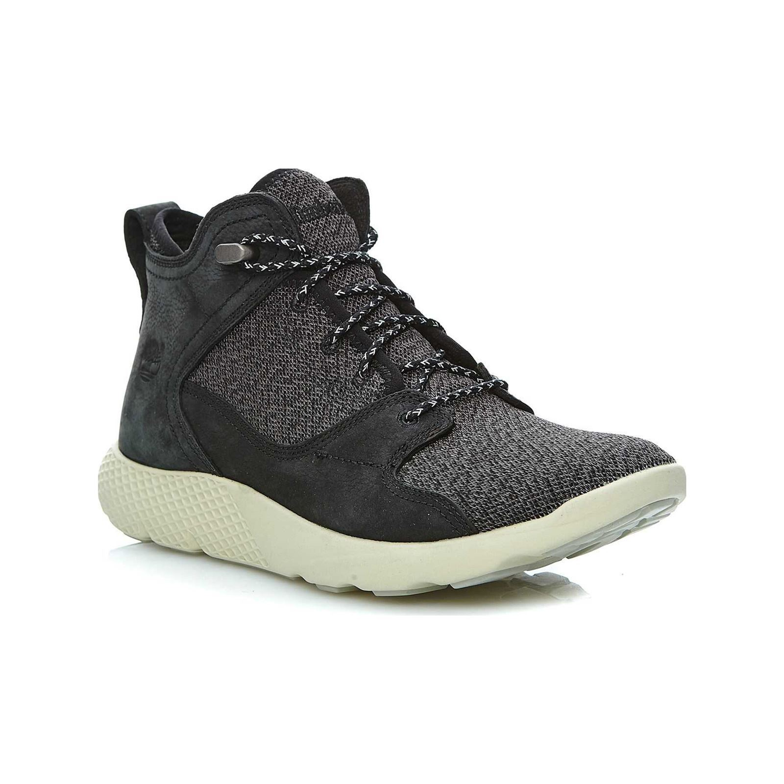 timberland grise montante