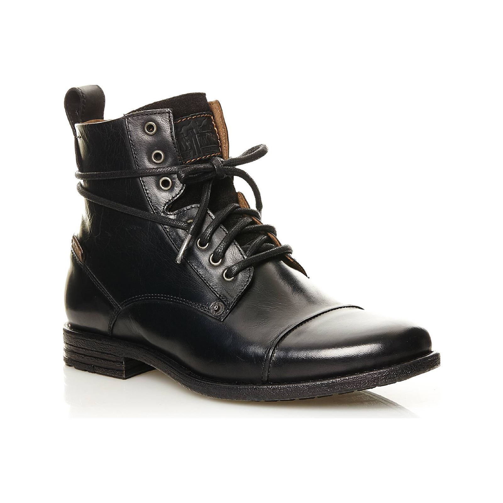 Levi's Emerson Lace Up Negro BsE4Ty6
