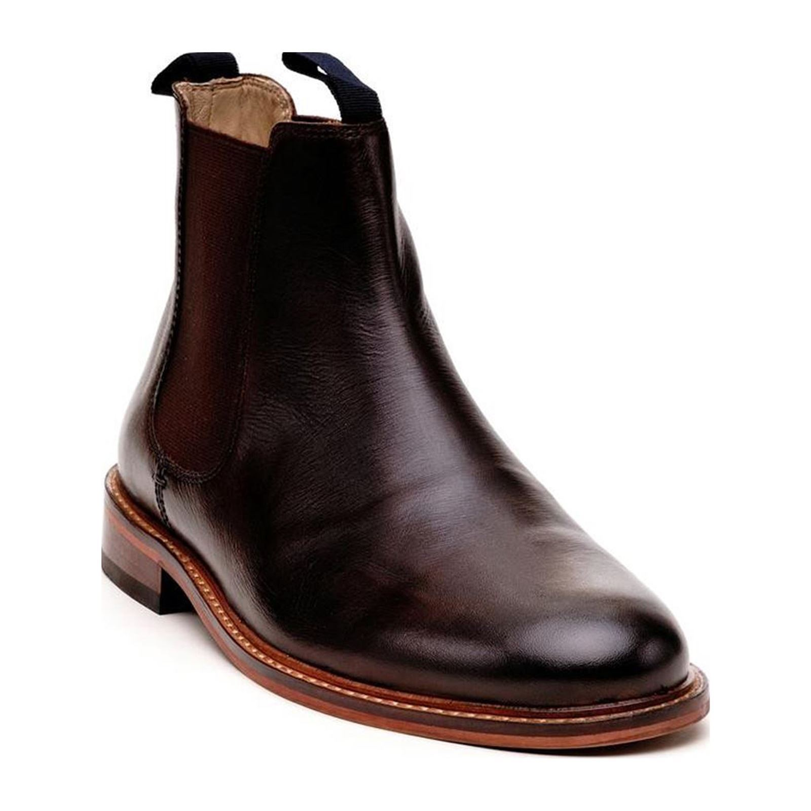 Dillinger Albert - Bottines en cuir - marron