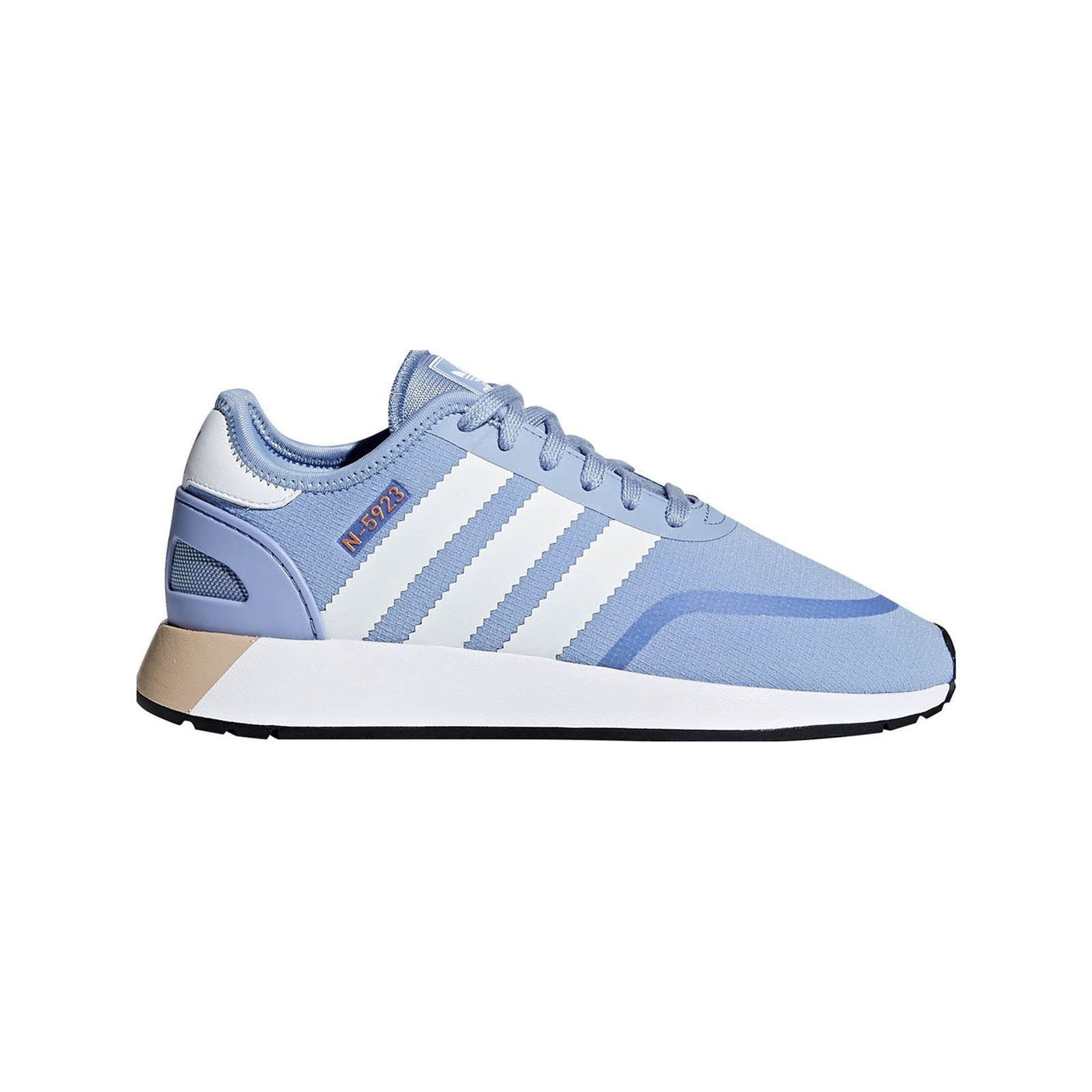 Adidas Originals N 5923 W - Sneakers - bleu  Empiècement siglé au dos - application siglée par endroit
