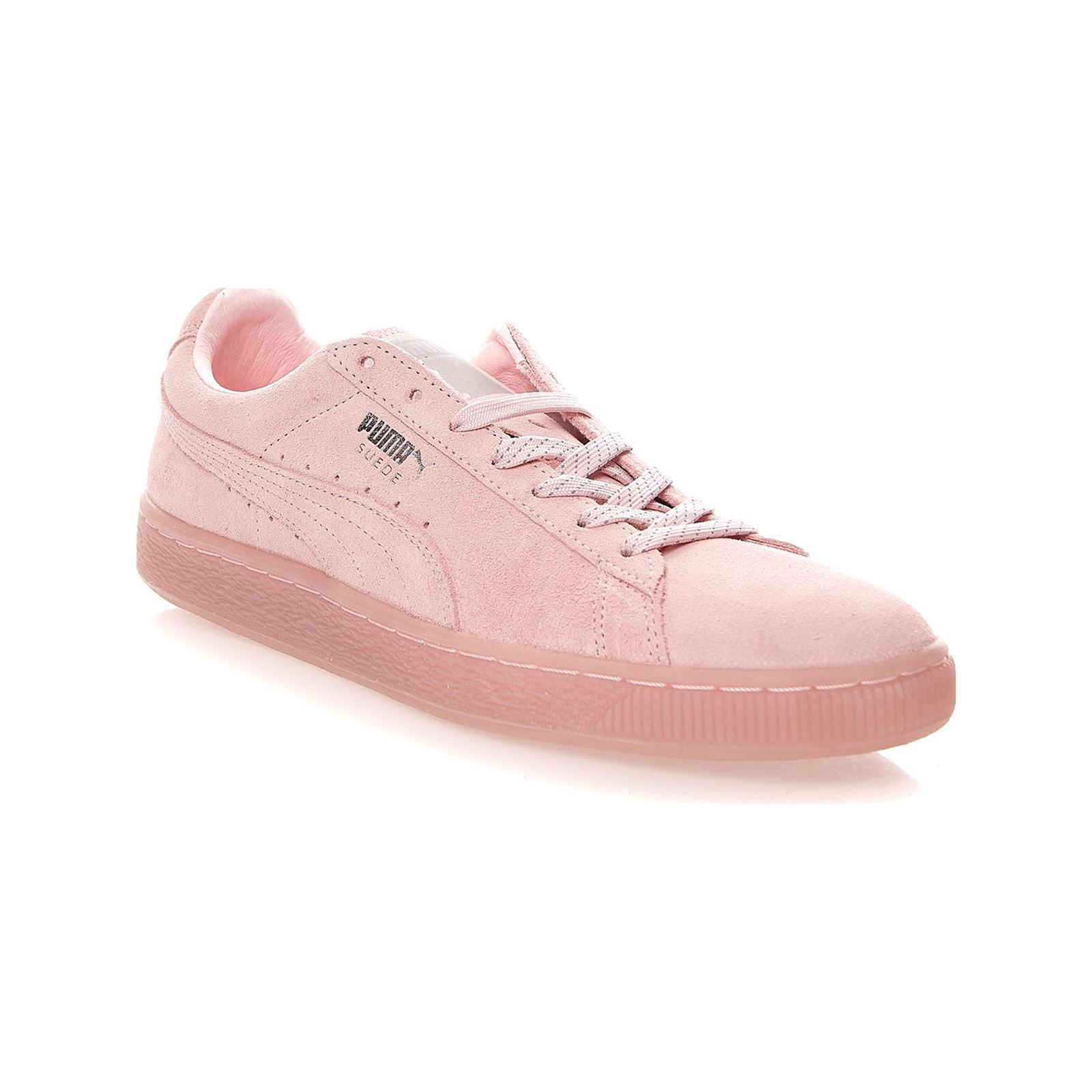 Puma Baskets en cuir - rose clair  Baskets