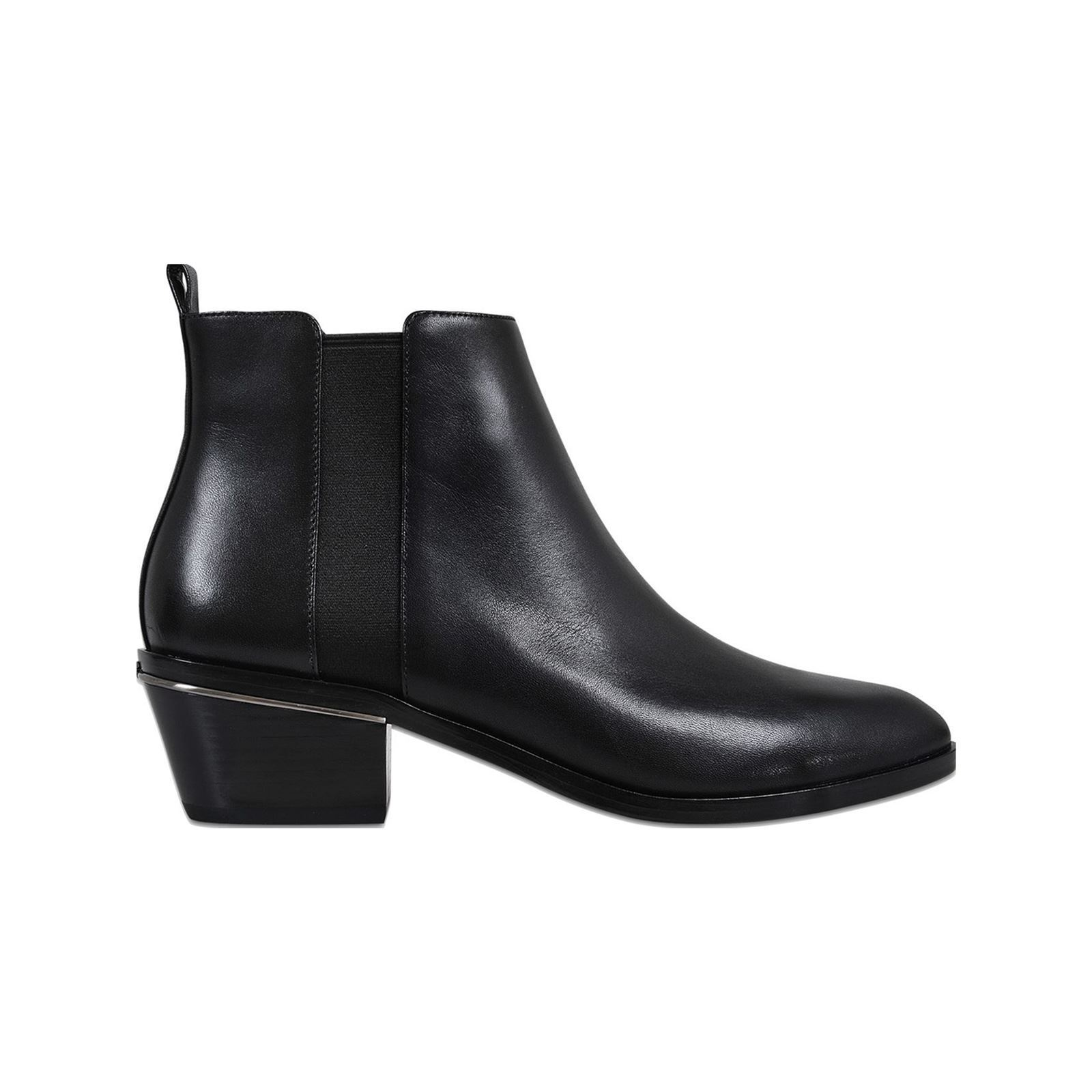 17554900b0aae3 Marc Jacobs Crosby - Bottines en cuir - noir   BrandAlley
