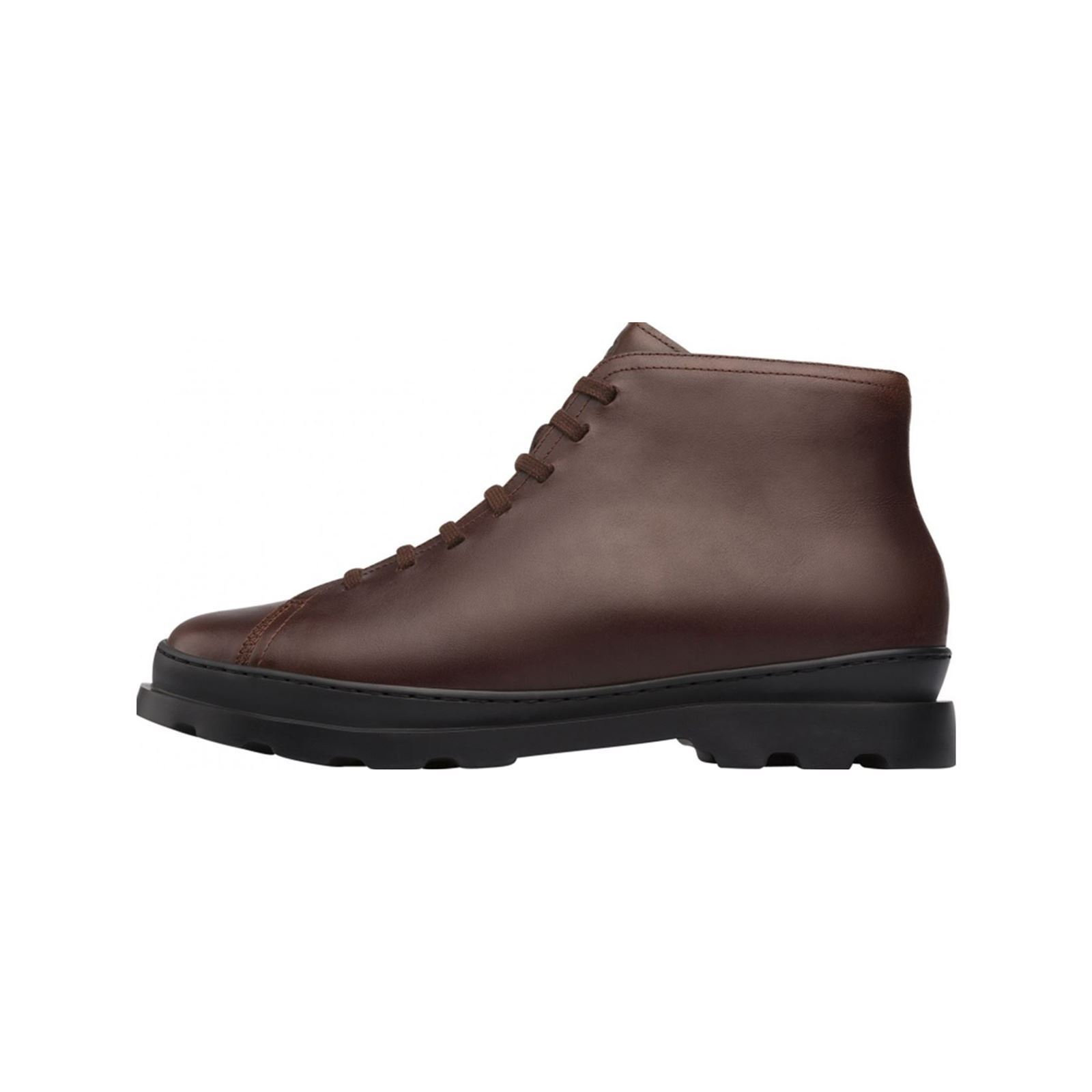 Bottines Brutus Marron Brandalley Cuir En Camper zSf0Wnxn