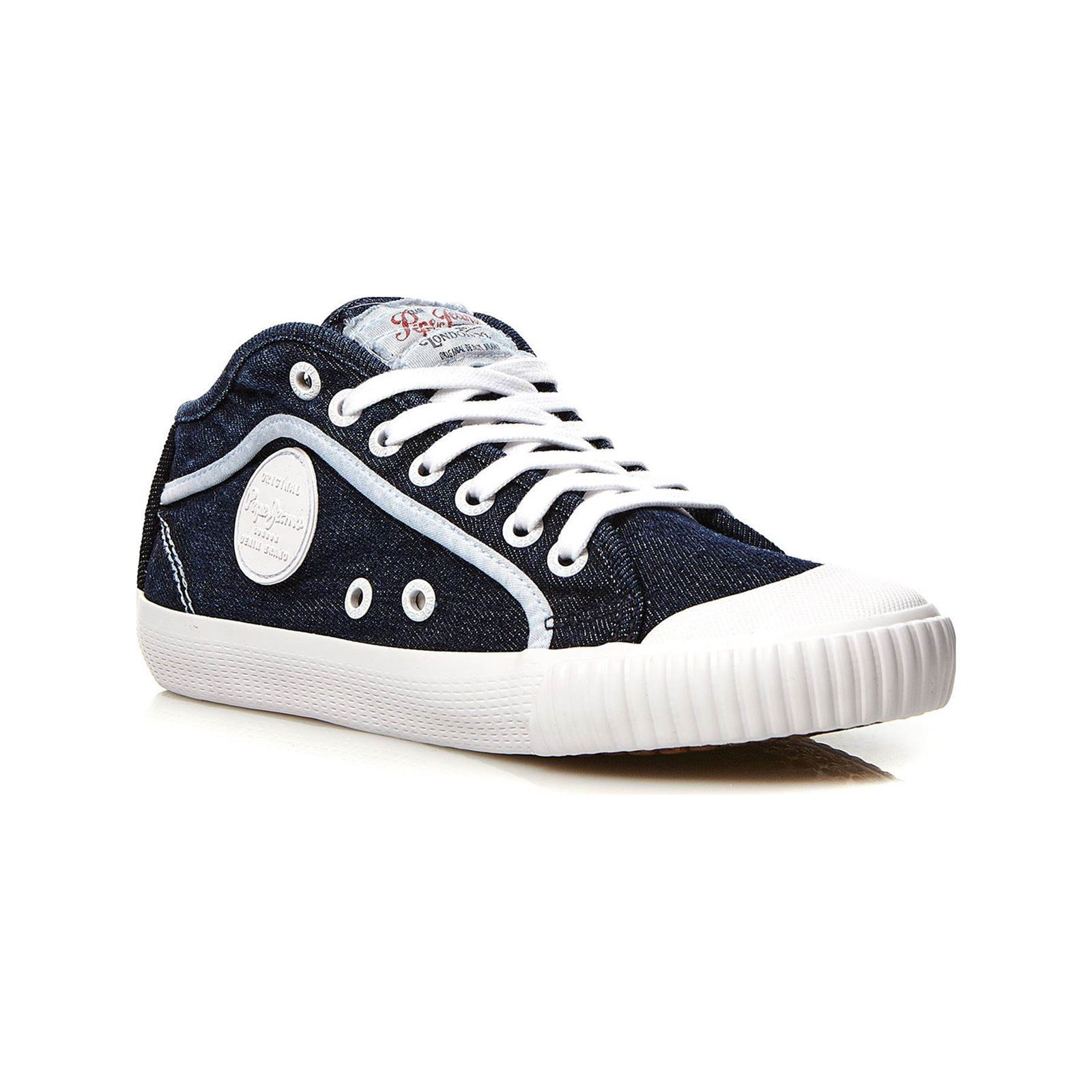 Pepe Jeans Footwear Industry Jeans 18 - Baskets - denim bleu  Baskets