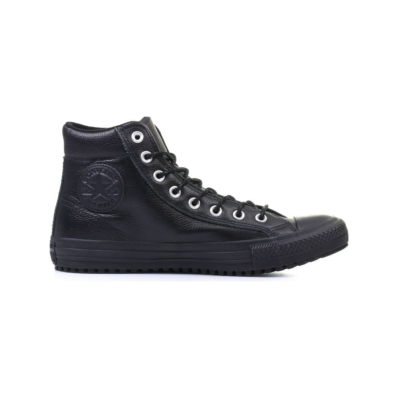 56b7322ba2f Converse Chuck Taylor All Star Boot PC - Zapatillas de cuero - negro ...