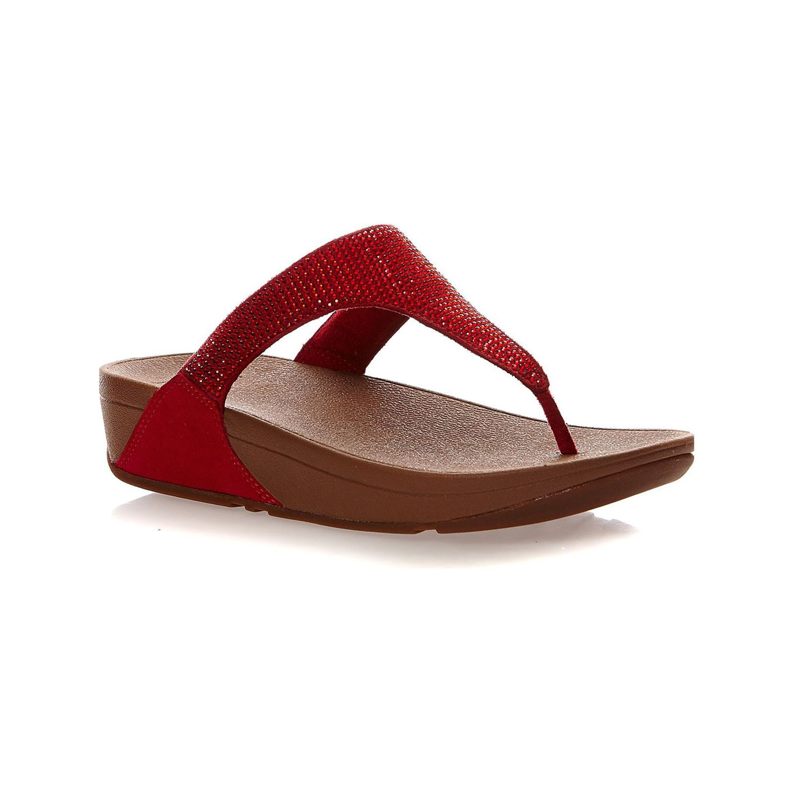 cheap for discount 10975 7629c FitFlop SLINKY ROKKIT TOE-POST - Tongs - rouge GH8HUA1Z - destrainspourtous. fr