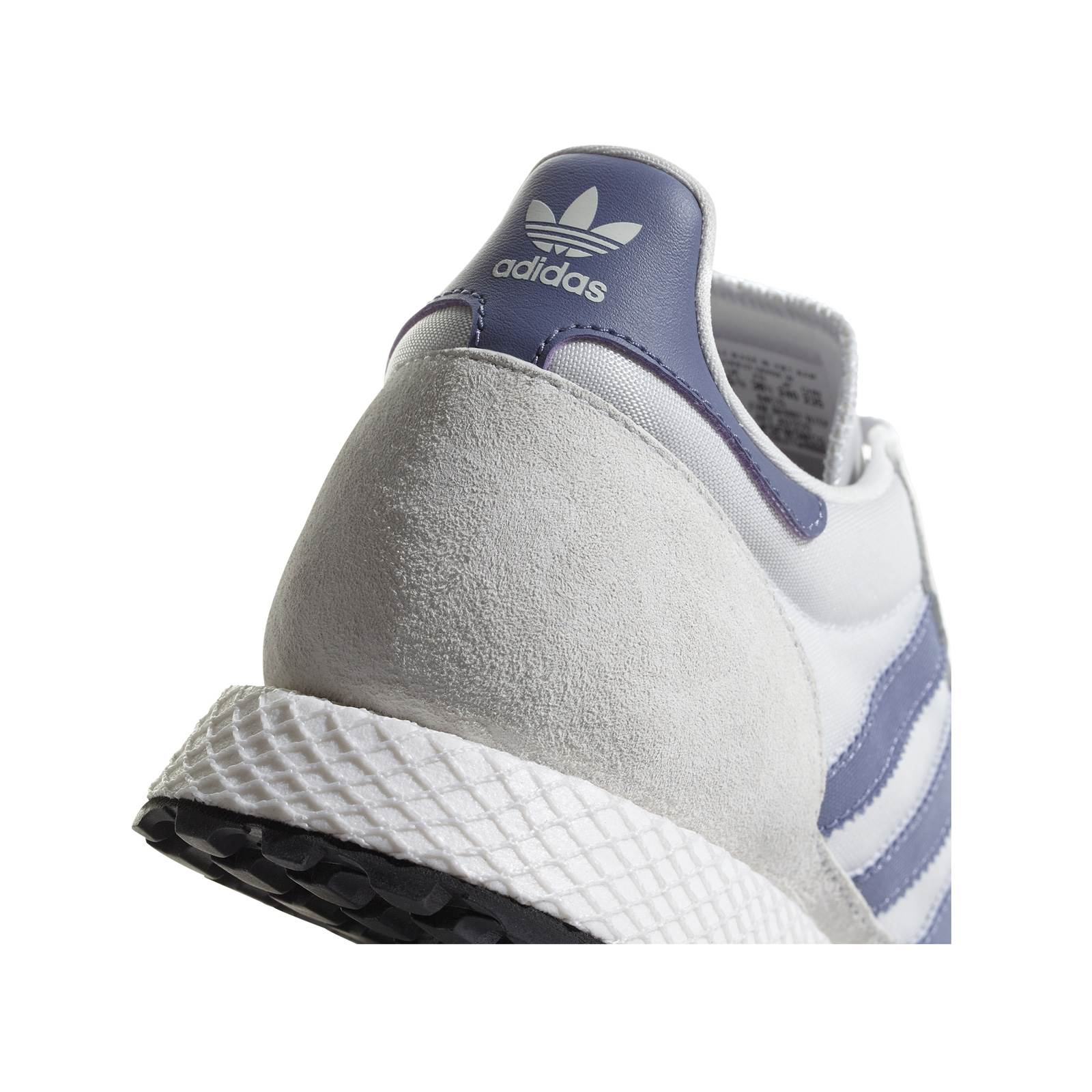 factory price 18a90 0ed0b ADIDAS ORIGINALS Forest Grove W - Baskets en cuir bi-matière - gris chine