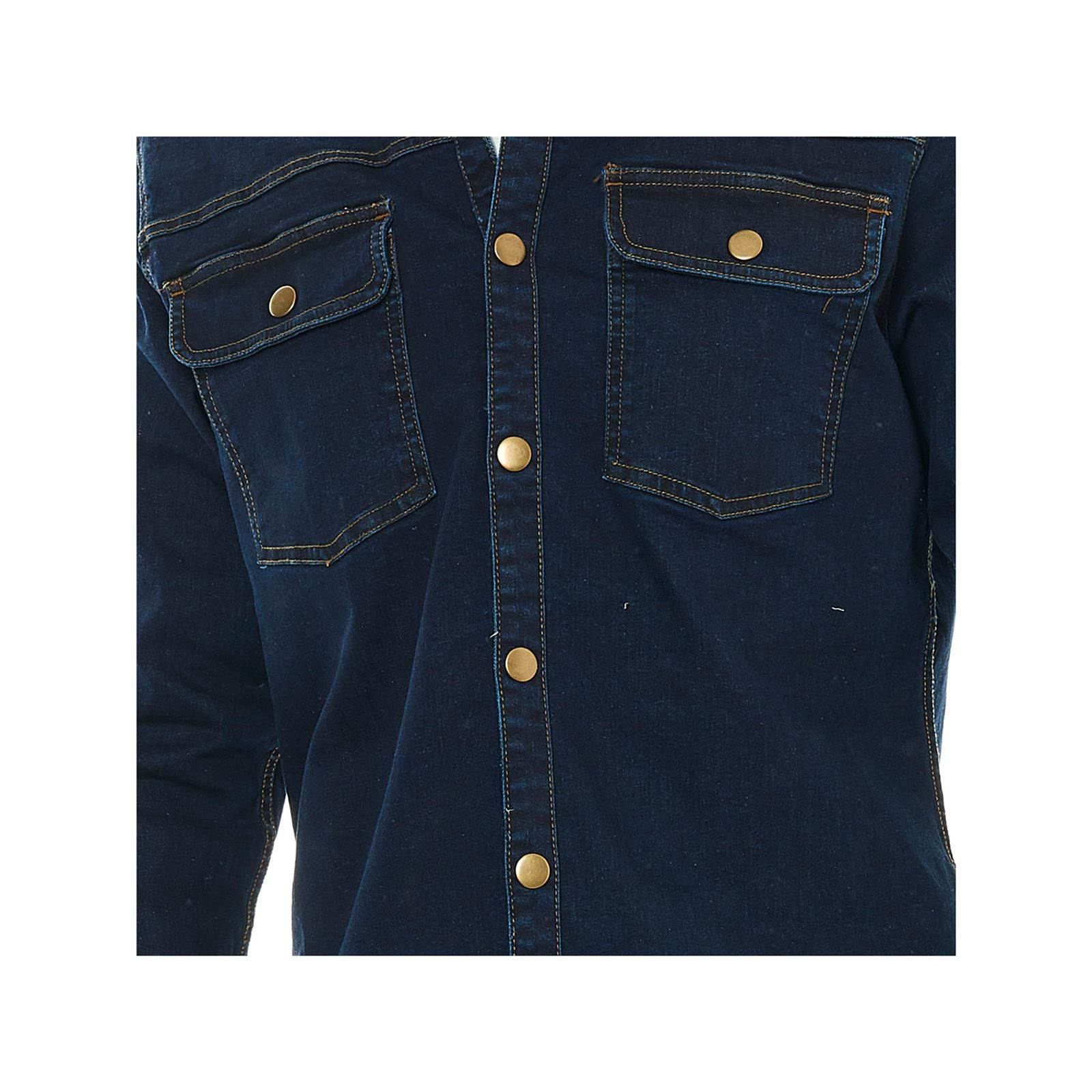 the best attitude 86703 7304c Only & sons Camicia a maniche lunghe - blu jeans   BrandAlley
