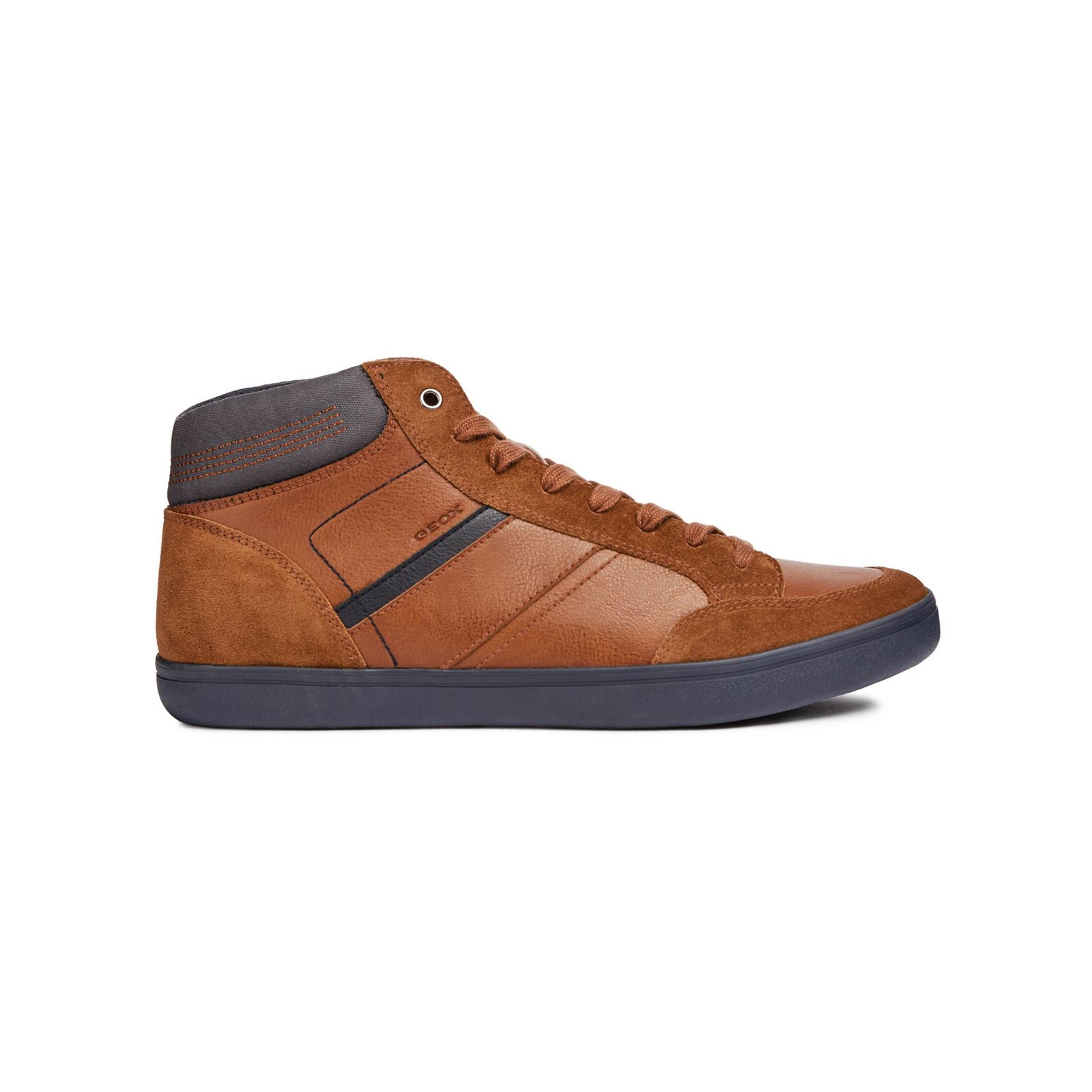 Montantes Brandalley E Baskets U Marron Box Clair Geox U0IPq