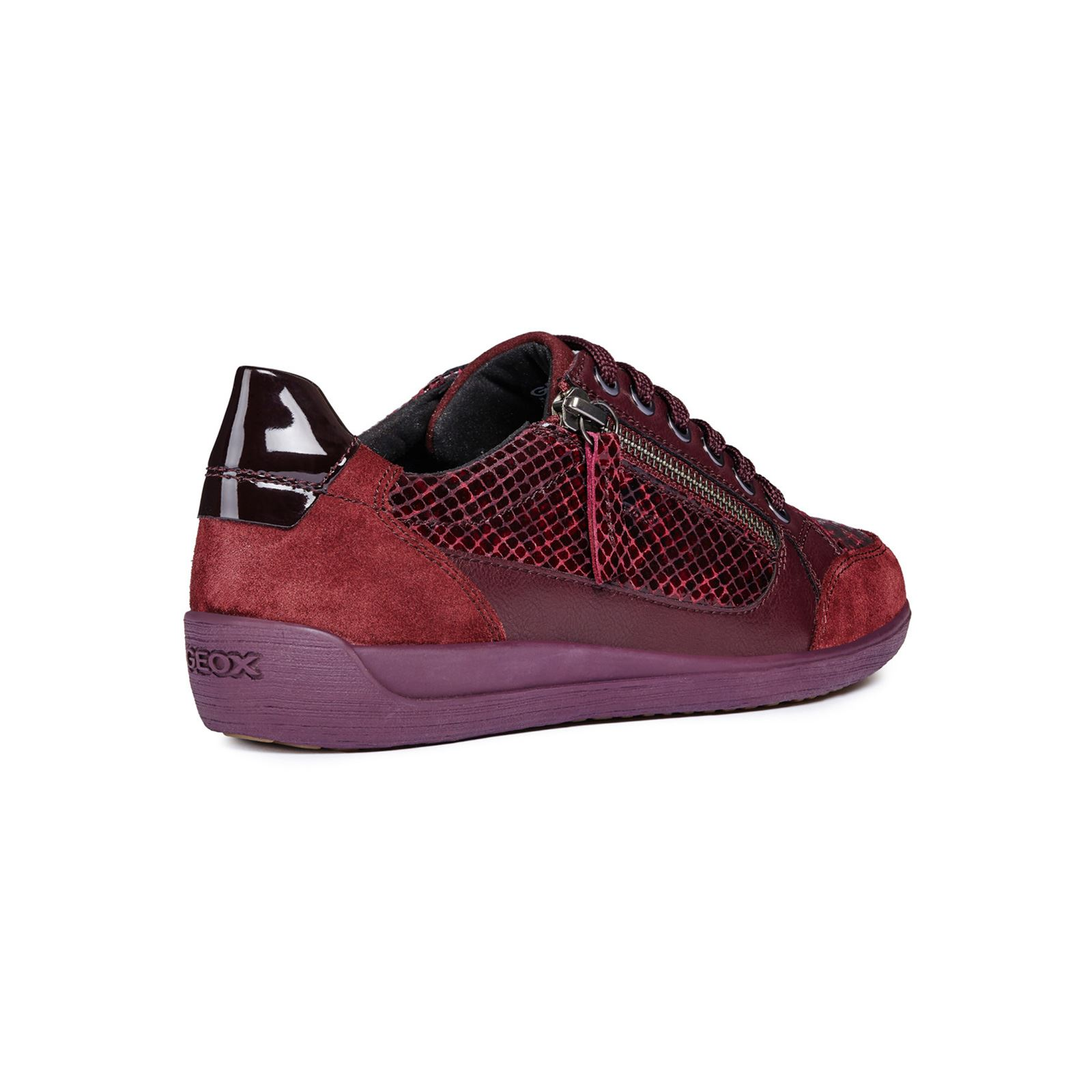 D Geox Baskets Myria Bordeaux A Brandalley TdZwnCqdg