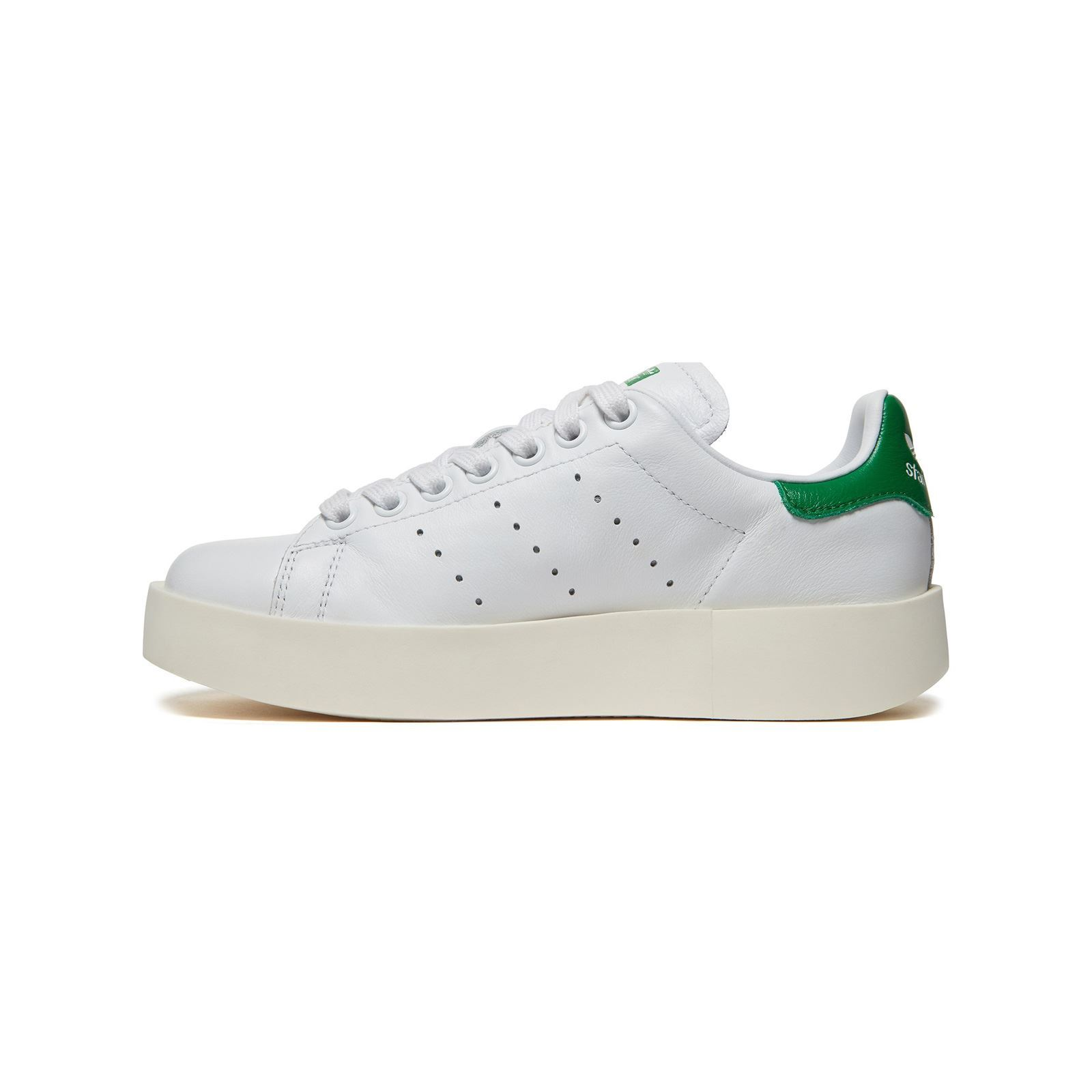 ADIDAS ORIGINALS Stan smith Bold W - Baskets en cuir - blanc