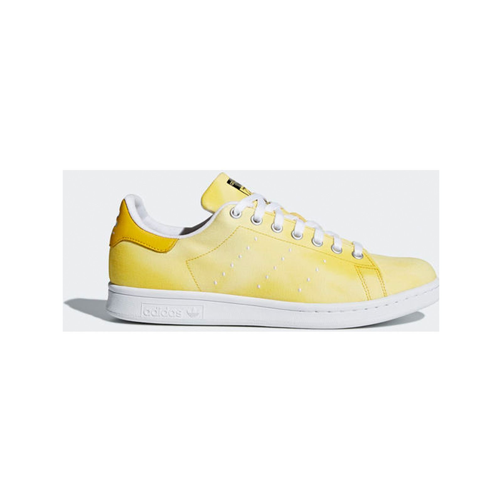 06f2bd255 ADIDAS ORIGINALS PW HU Holi Stan Smith - Baskets en cuir bi-matière - jaune