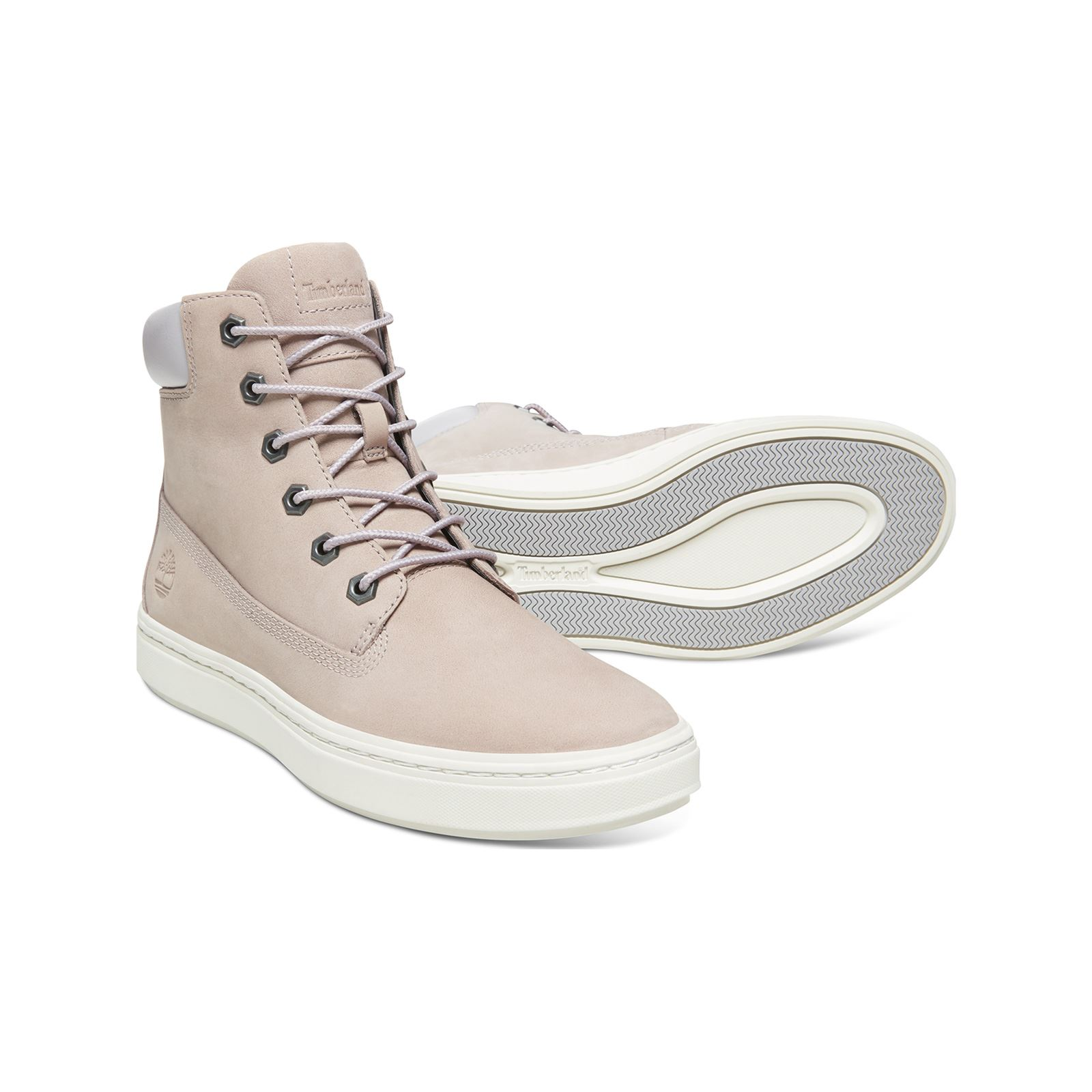 Clair Londyn Cuir Montantes Rose Baskets Timberland Inch 6 En UzMVSpqG